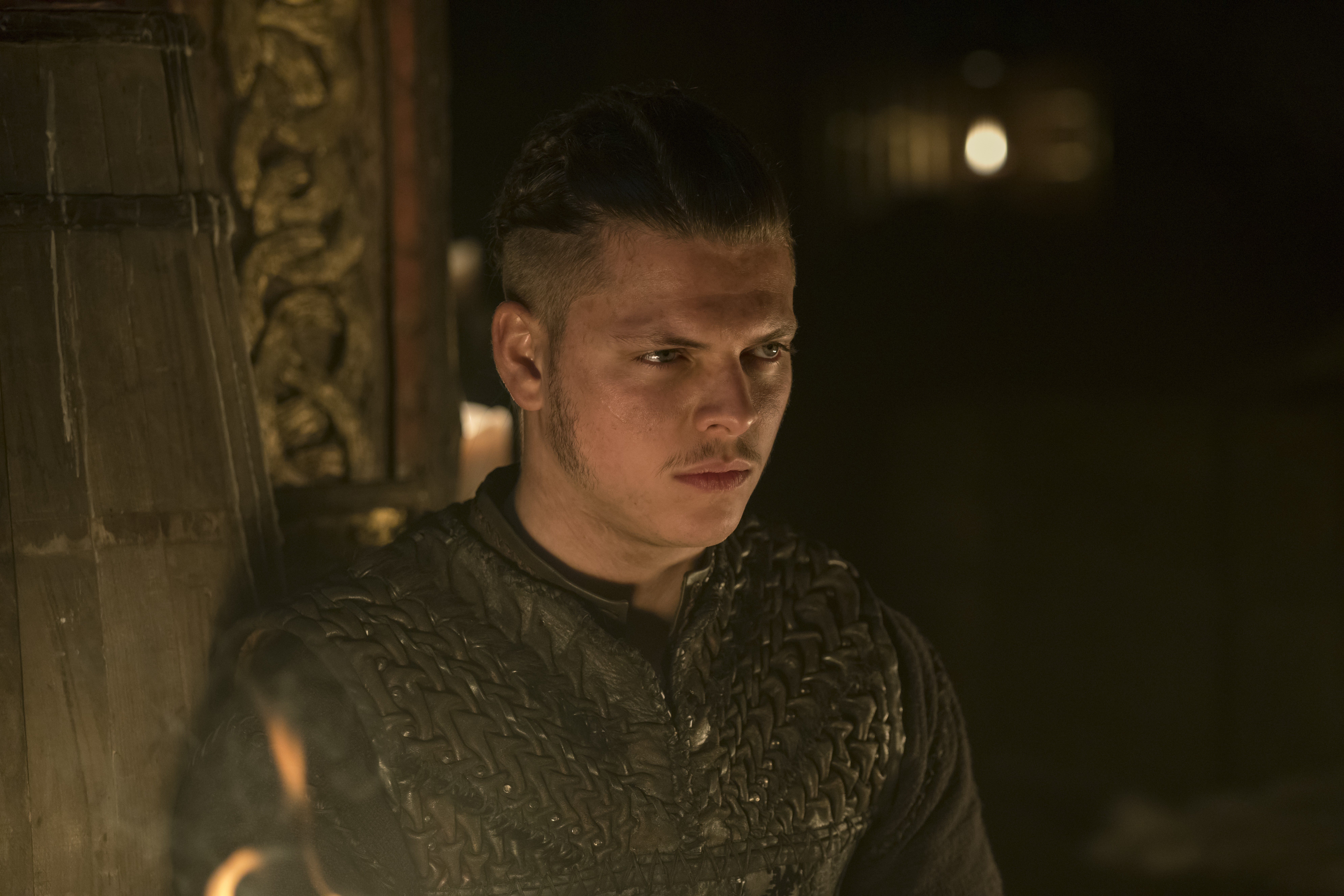 Ivar rallies the troops in a clip from tonight's Vikings