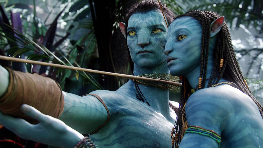Check out this behind-the-scenes image from the Avatar sequel!
