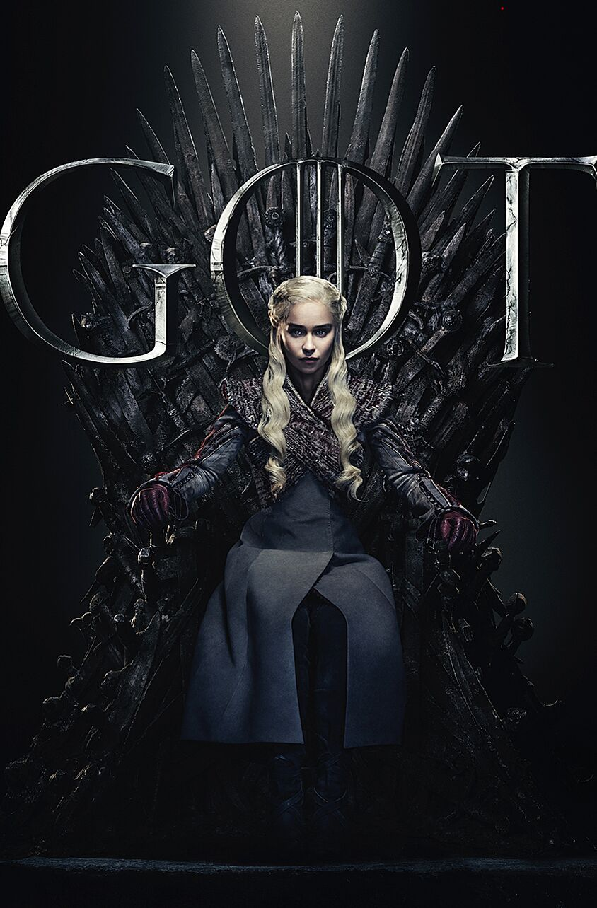 Official Character Posters For Game Of Thrones Season 8