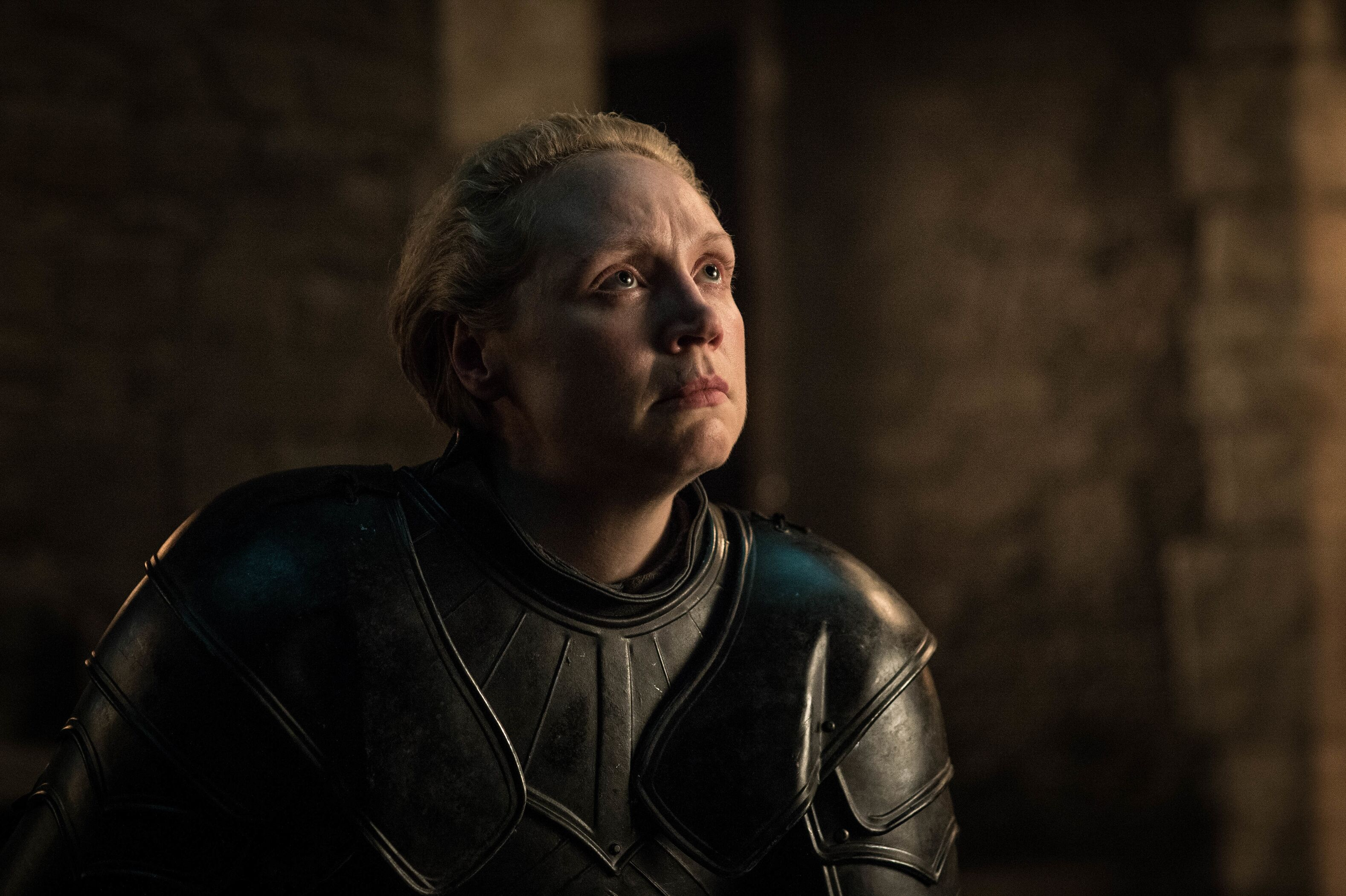 "Gwendoline Christie found Brienne's ending ""incredibly positive and unexpected"""