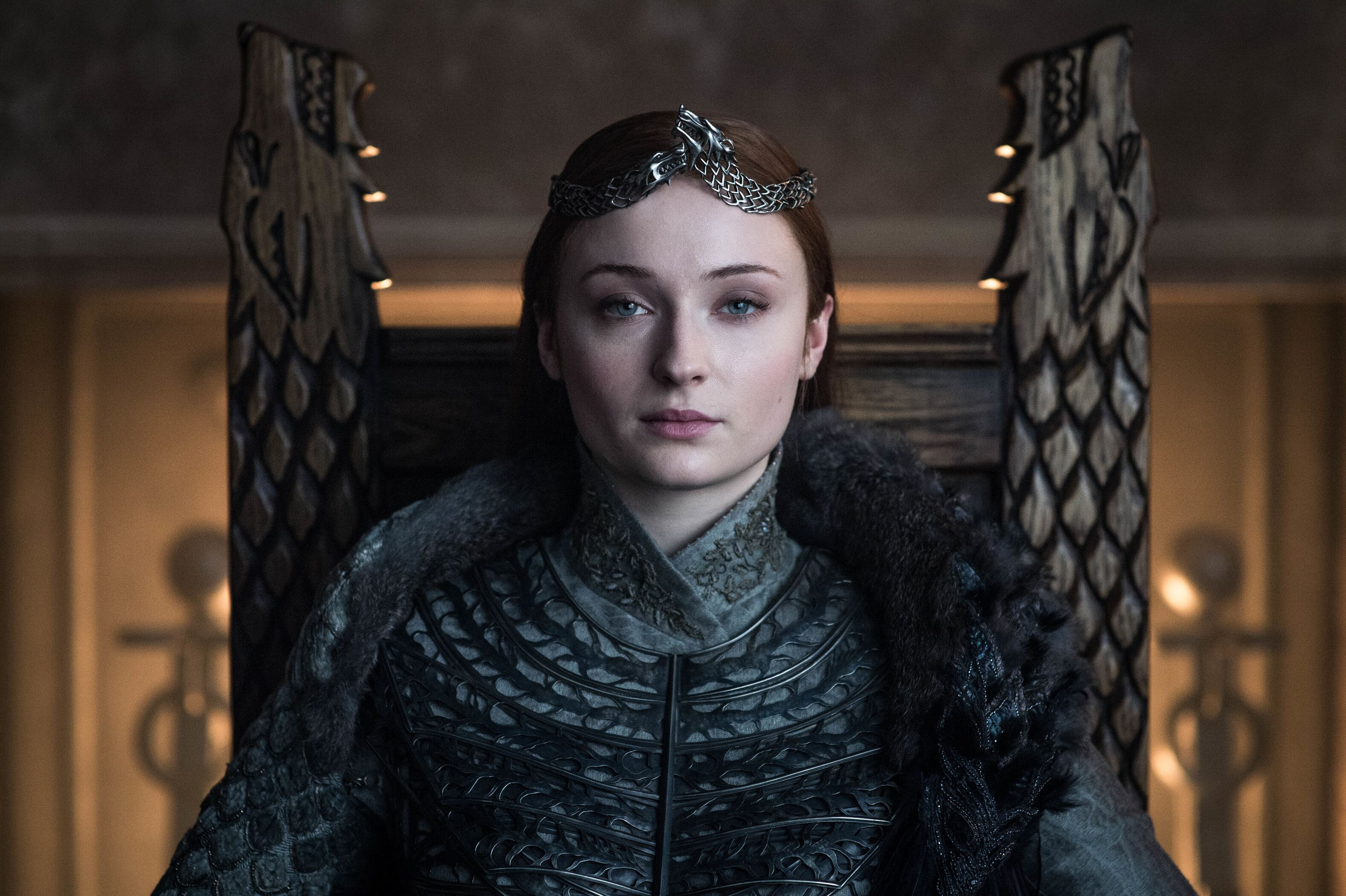 How Michele Clapton wove callbacks and references into Sansa's coronation gown