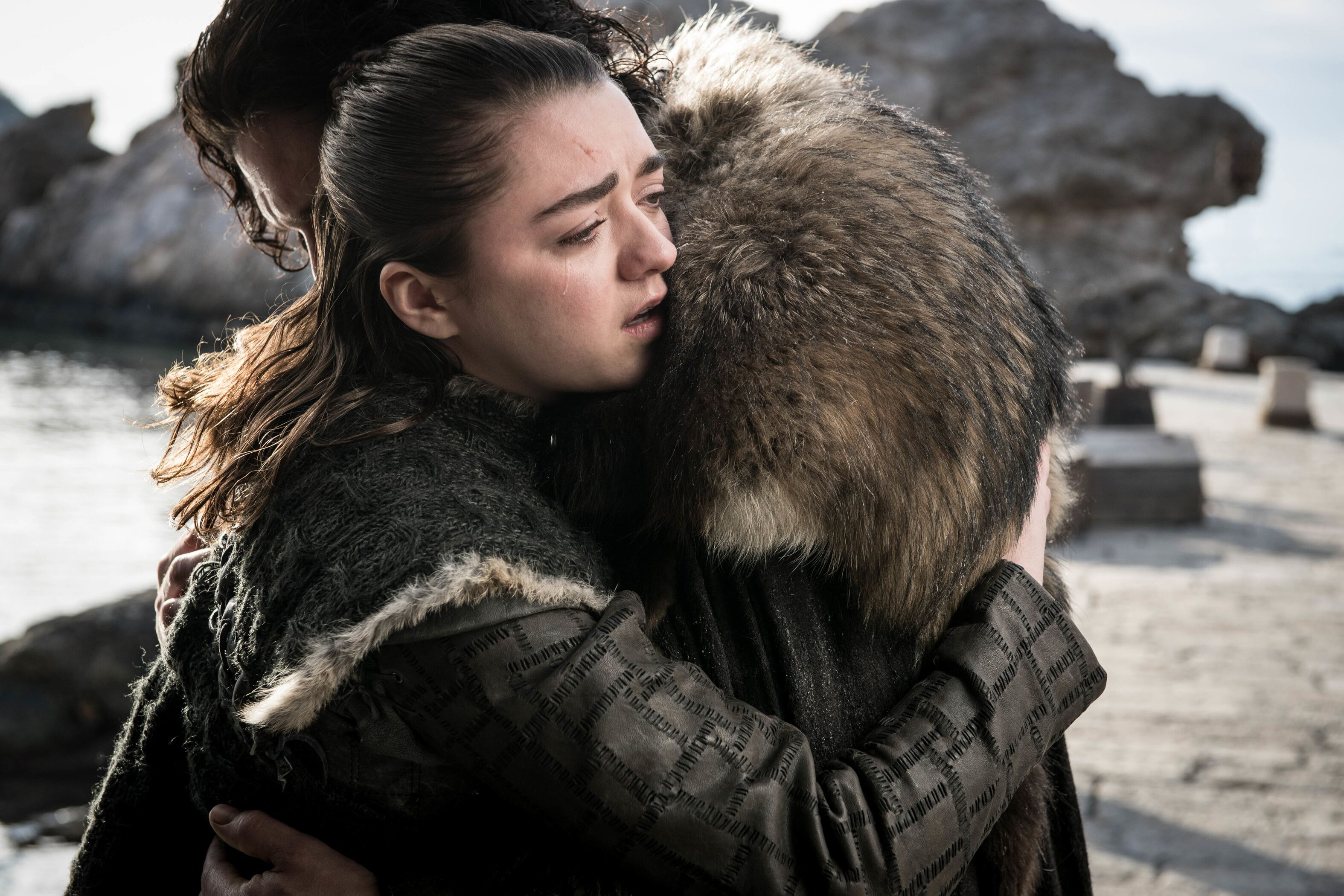 """Maisie Williams reflects on Arya's """"happy ending"""""""