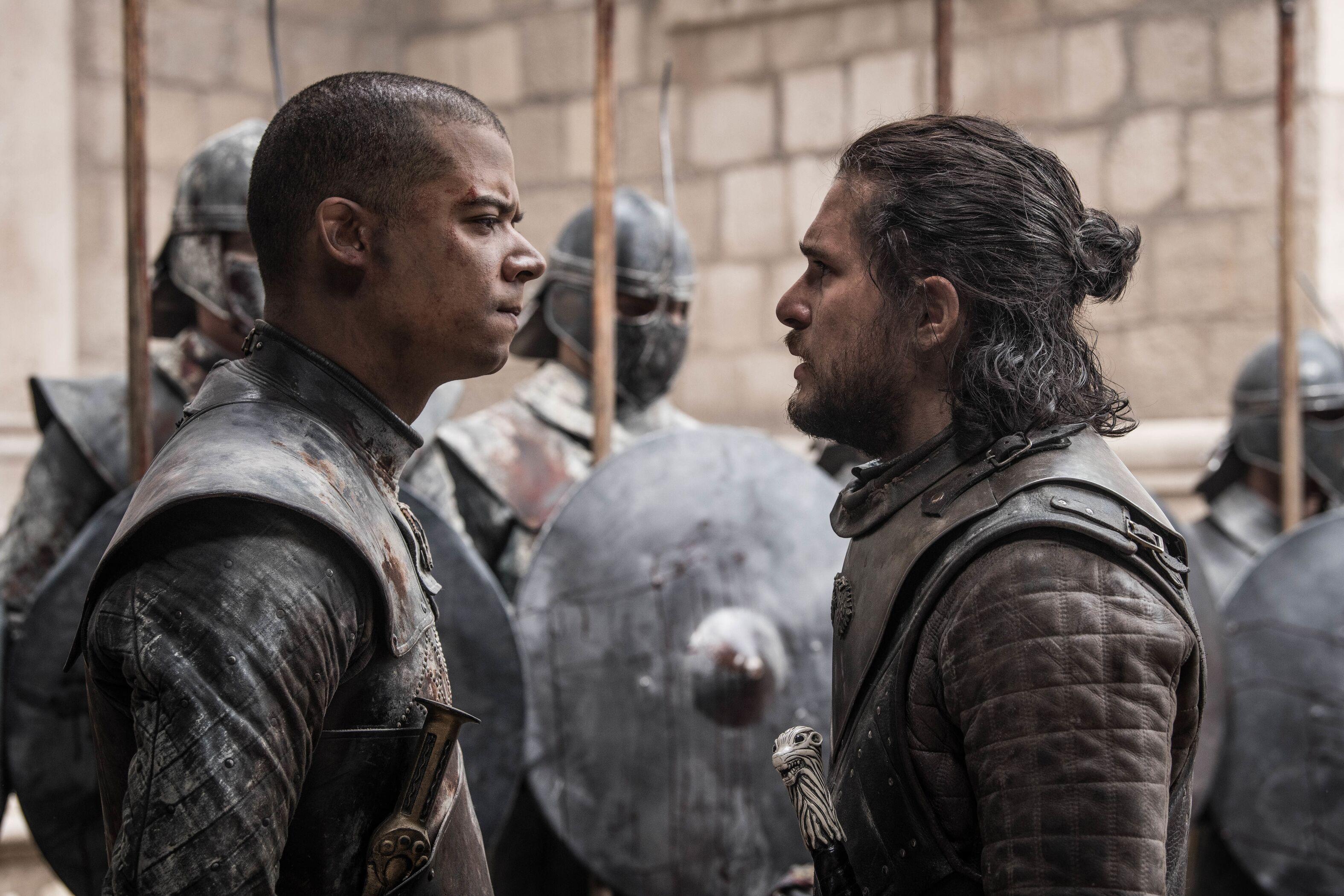 Jacob Anderson (Grey Worm) thinks Jon Snow got off too lightly