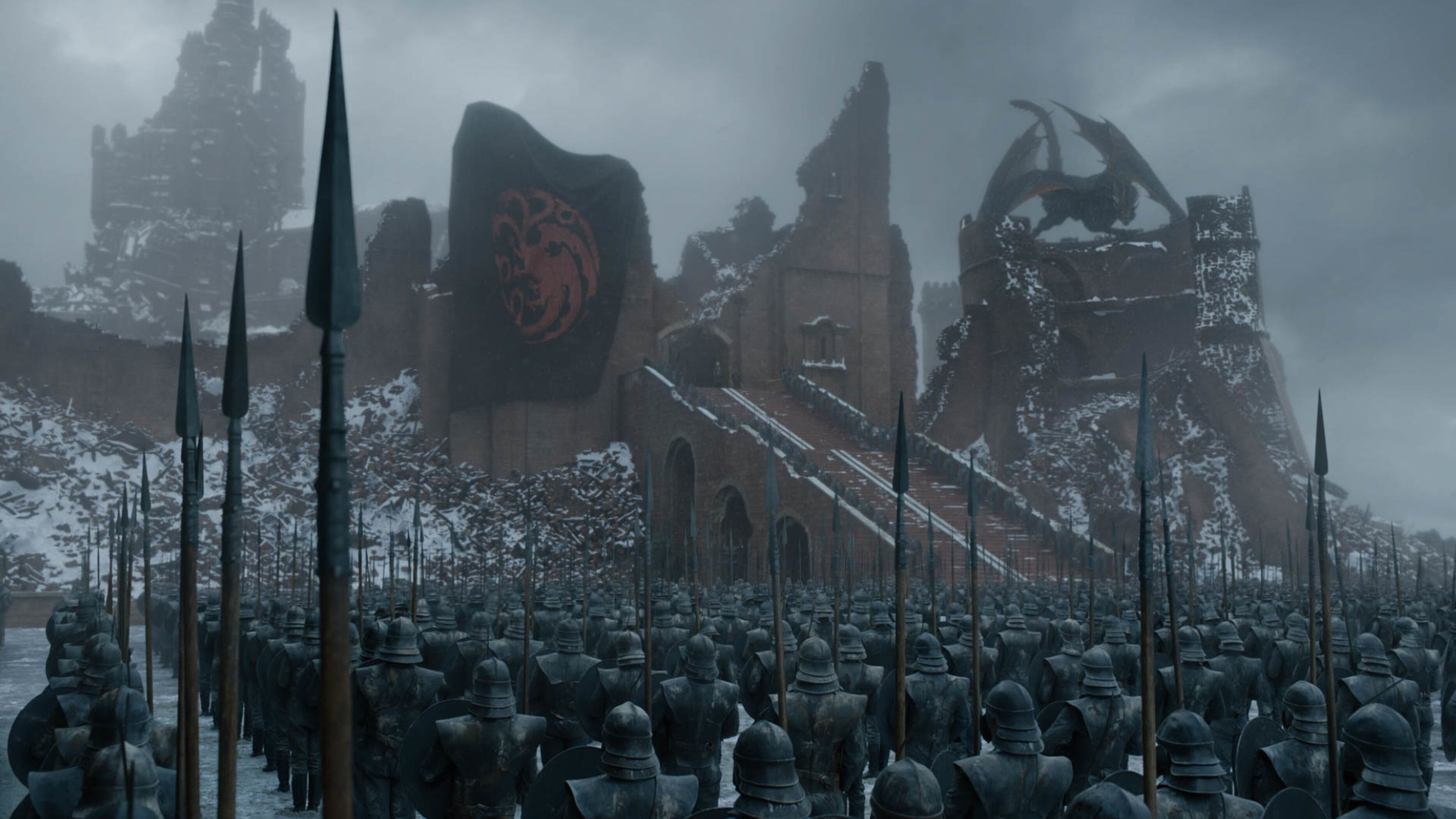 Check out amazing concept art for the final episodes of Game of Thrones