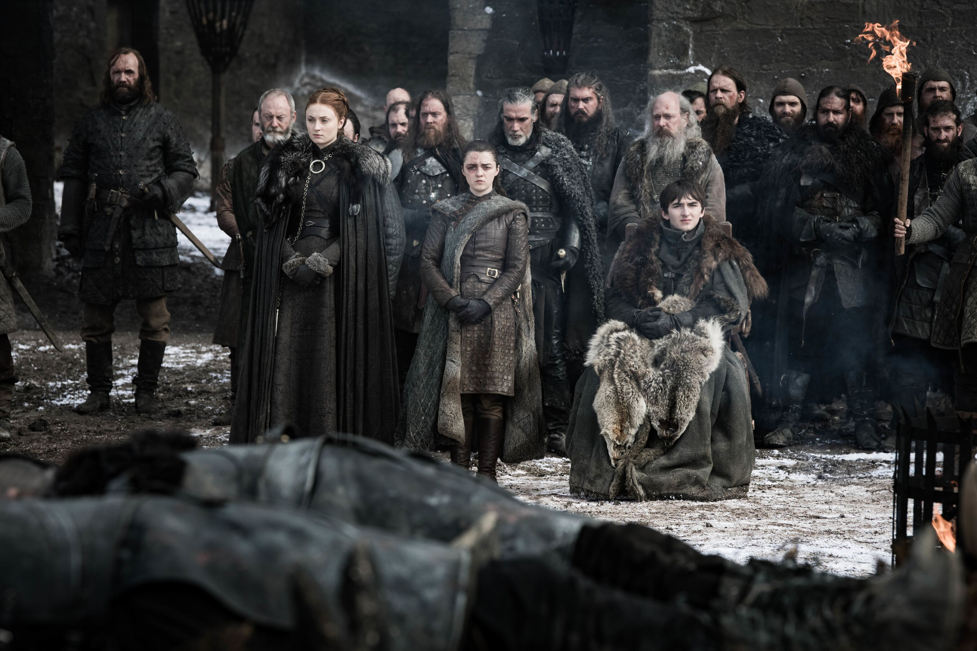 The Stark kids discuss growing up on Game of Thrones