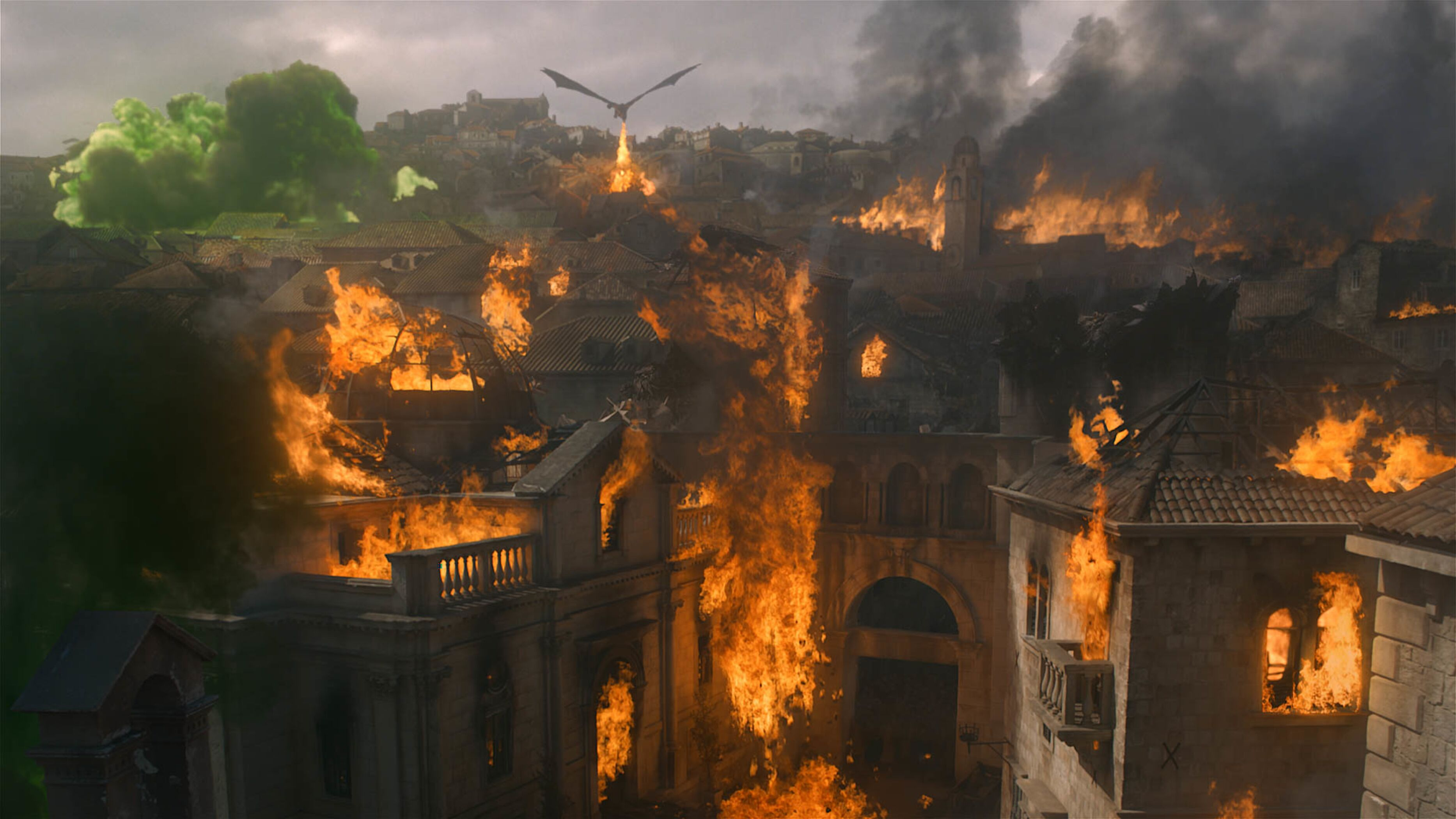 Why are the sets from Game of Thrones season 8 still standing?