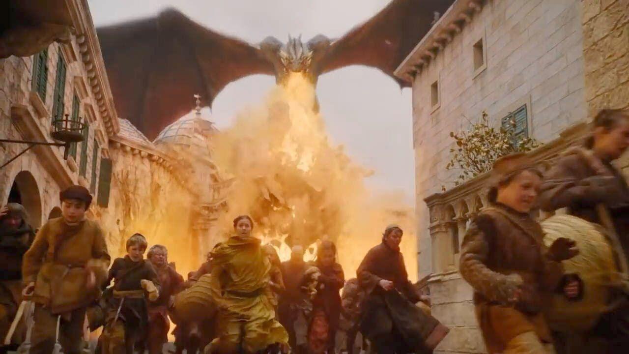 Daenerys burning King's Landing was originally much more gruesome