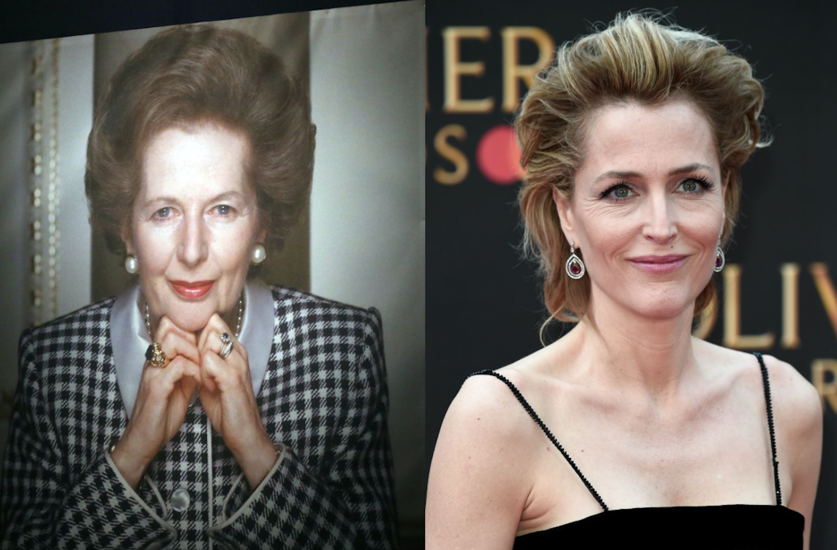 Gillian Anderson is playing Margaret Thatcher in The Crown season 3