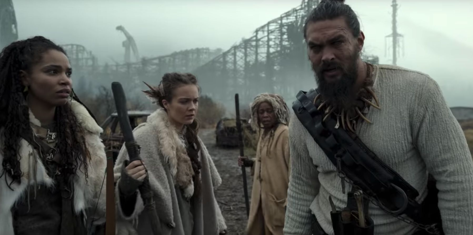 See the trailer for 'See,' Jason Momoa's post-apocalyptic epic