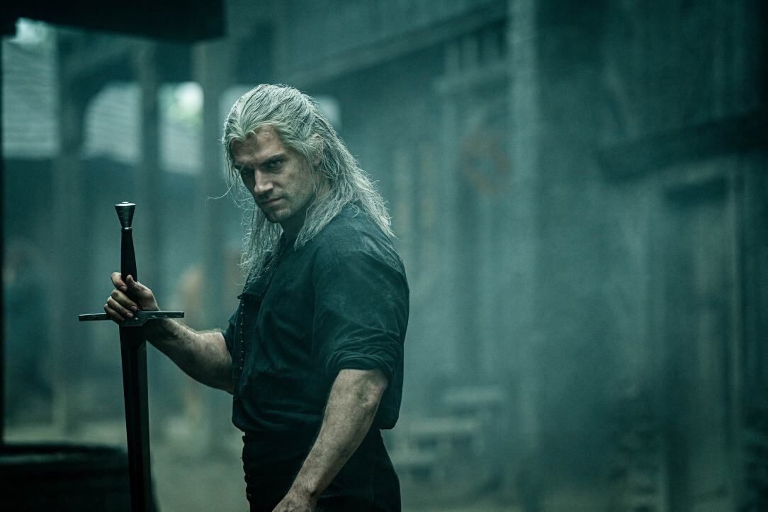 Watch Geralt slice and dice in action scene from The Witcher