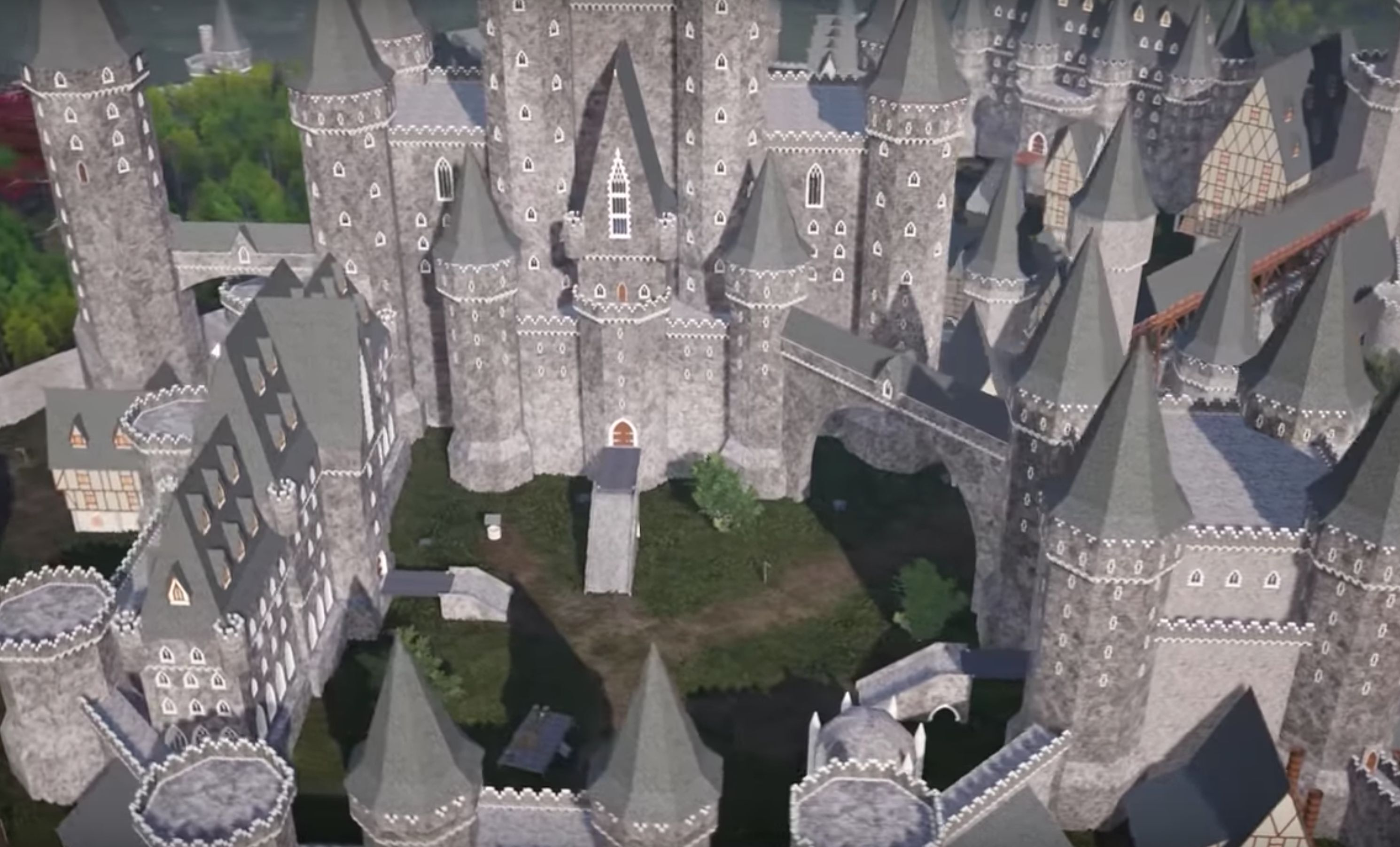 Take a video tour of a book-accurate model of Winterfell