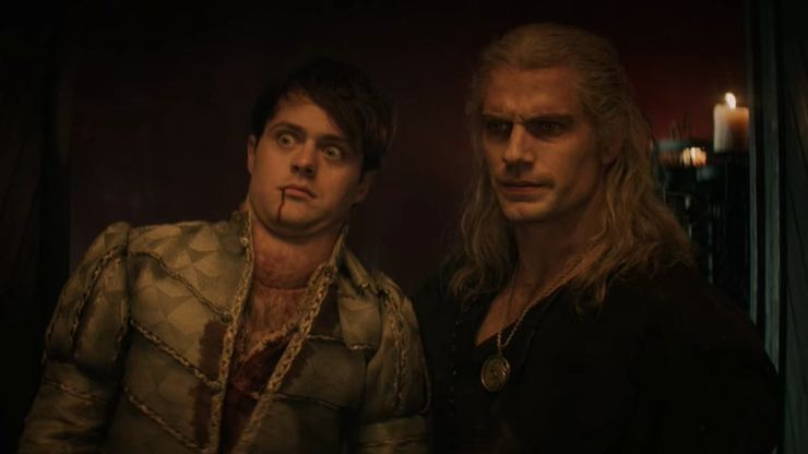 Jaskier actor loved making Henry Cavill break character on The Witcher