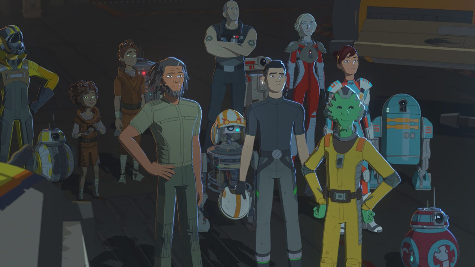 Kylo Ren makes an appearance in the Star Wars Resistance finale