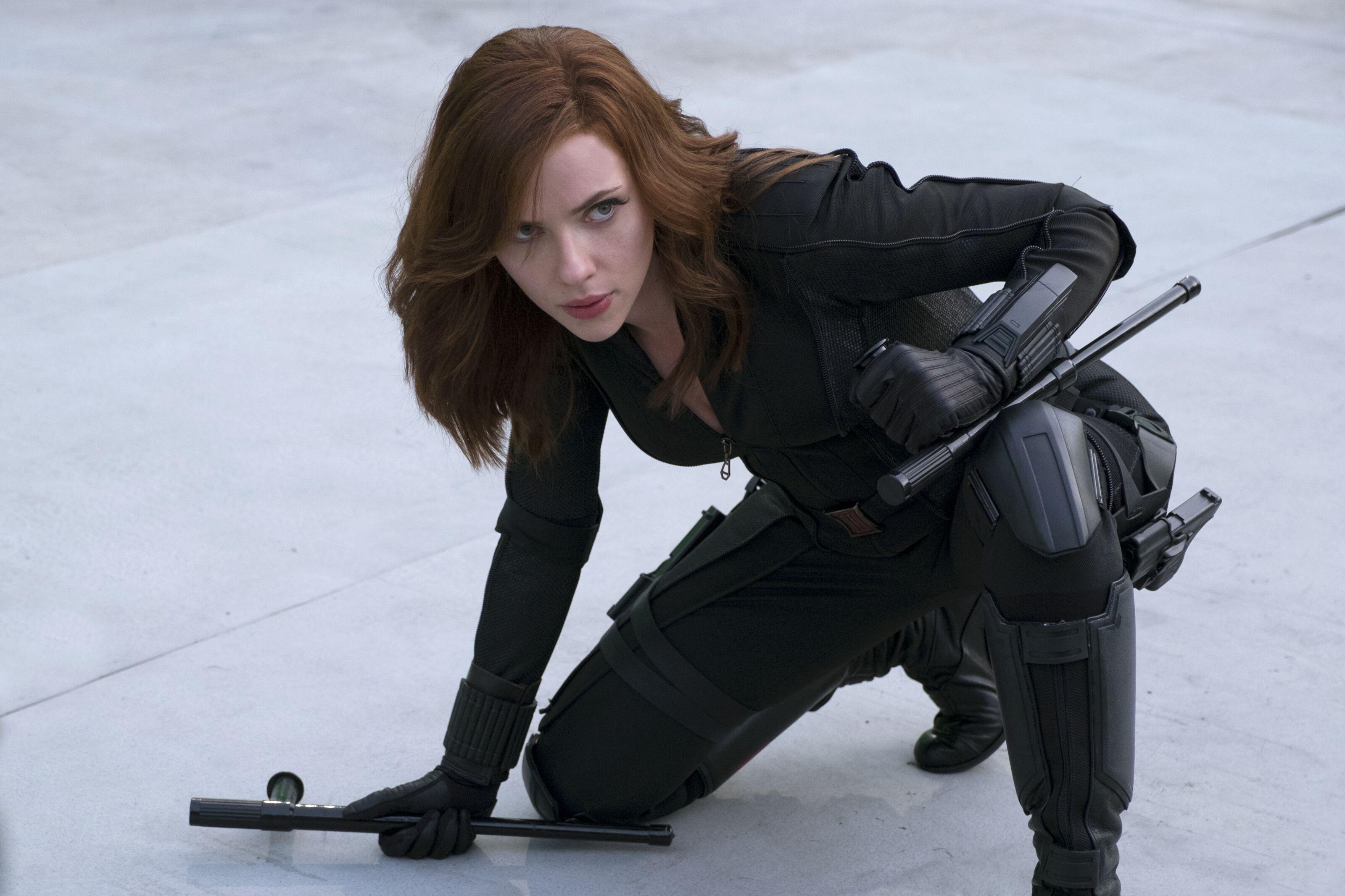 Scarlett Johansson frantically tries to avoid spoiling Black Widow