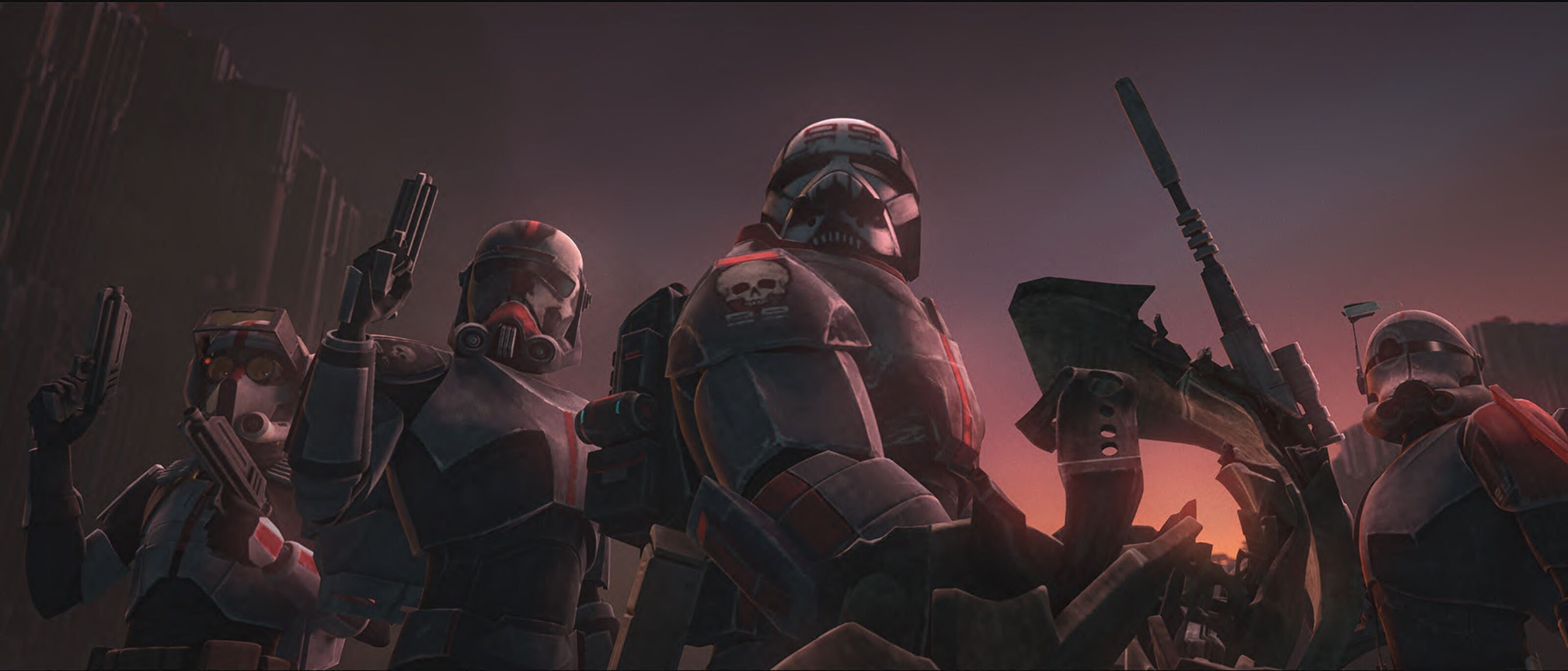 Teaser for Star Wars: The Clone Wars shows what's next for the Bad Batch
