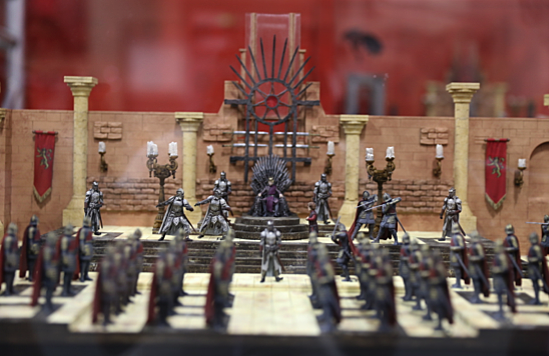 Iron Throne Room Building Set