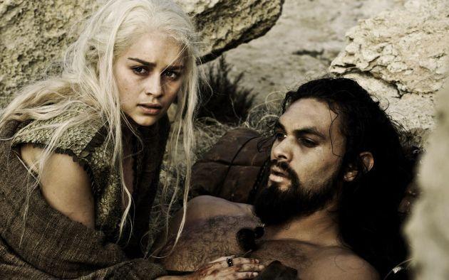 Daenerys Targaryen And Khal Drogo Game Of Thrones