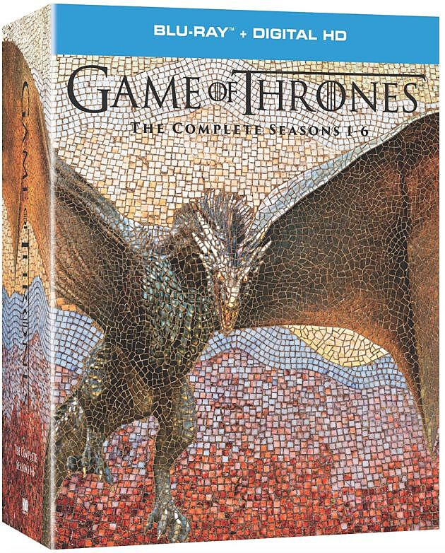 Game of Thrones: The Complete Seasons 1-6, HBO's ultimate box set