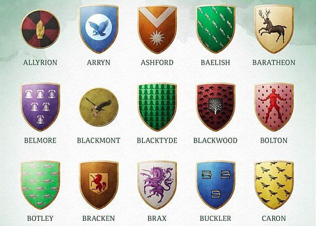 The rich visual history of sigils in fantasy and Game of Thrones