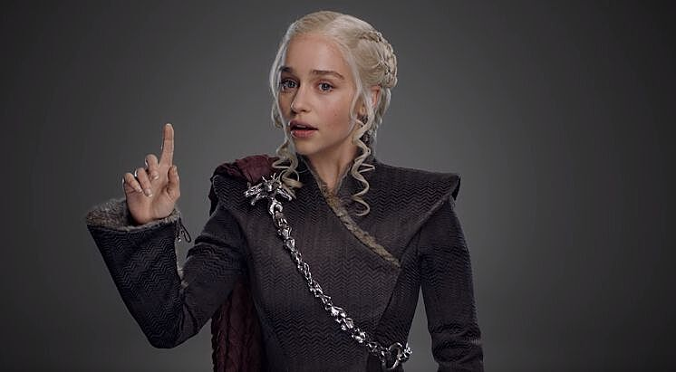 Only Titles and Dragons - The Tale of Daenerys Targaryen