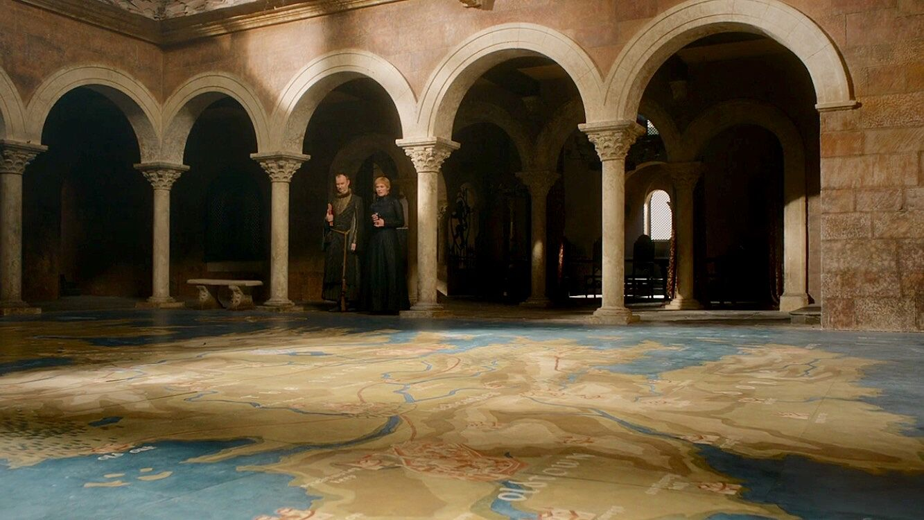 Producers hint at how Cersei\'s map room in Game of Thrones season 8