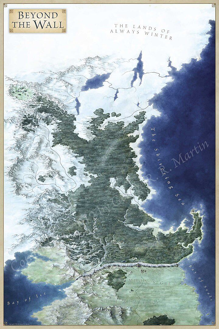 Meet the scientist who made the maps for The Lands of Ice and Fire