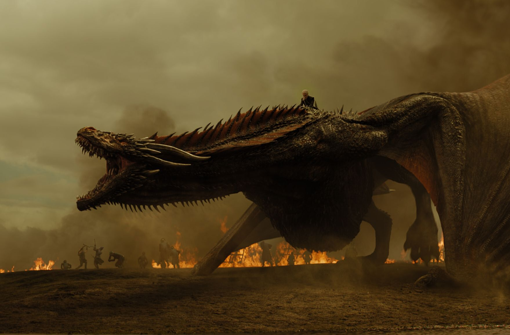 Power ranking the dragons of A Song of Ice and Fire