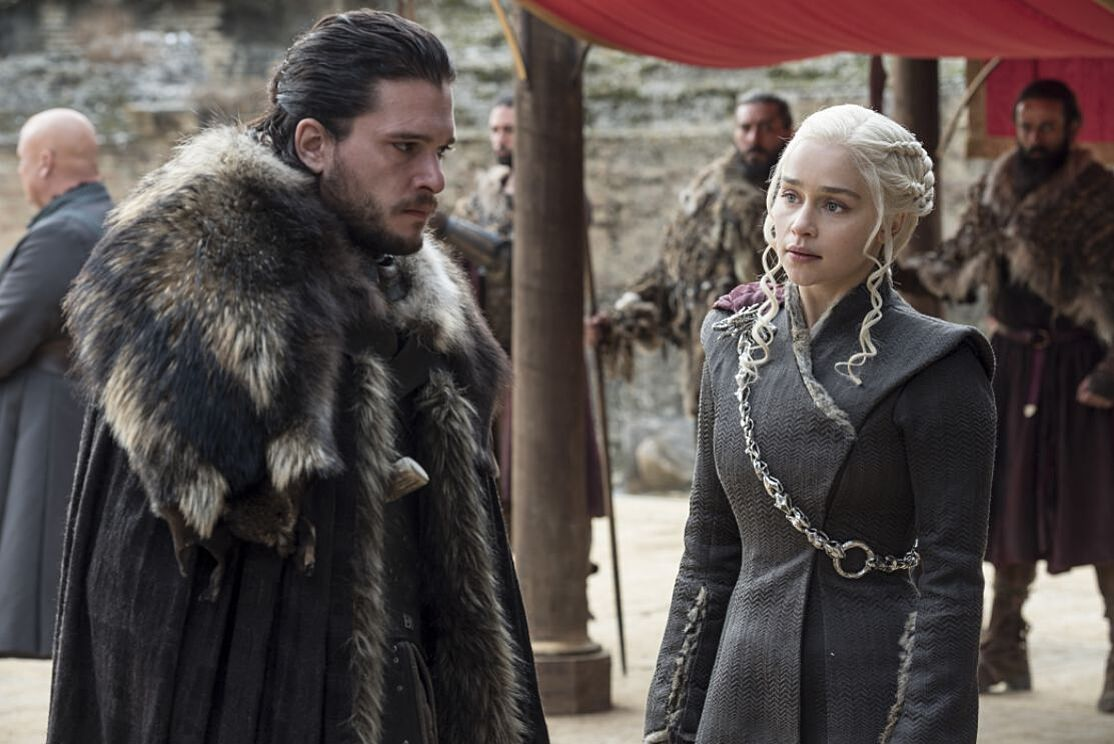 Image result for game of thrones the dragon and the wolf
