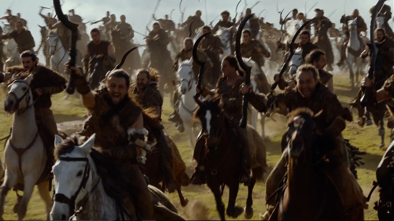 """Game of Thrones Screencap Breakdown: """"The Spoils of War"""" Game Of Thrones Battle on transformers fall of cybertron battle, lord of the rings battle, the amazing world of gumball battle, fire and ice battle, gears of war 3 battle, the walking dead battle, badass battle,"""