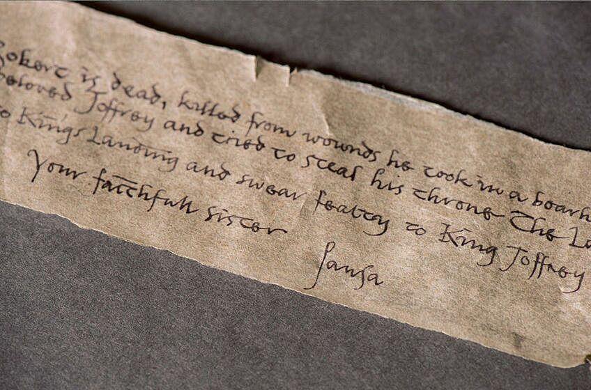 Game Of Thrones Episode  Letter From Sansa