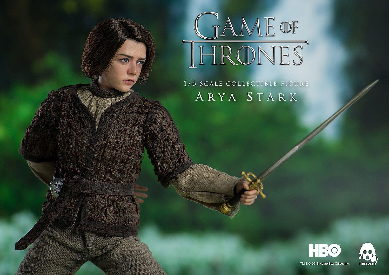 ThreeZero reveals realistic Arya Stark figurine