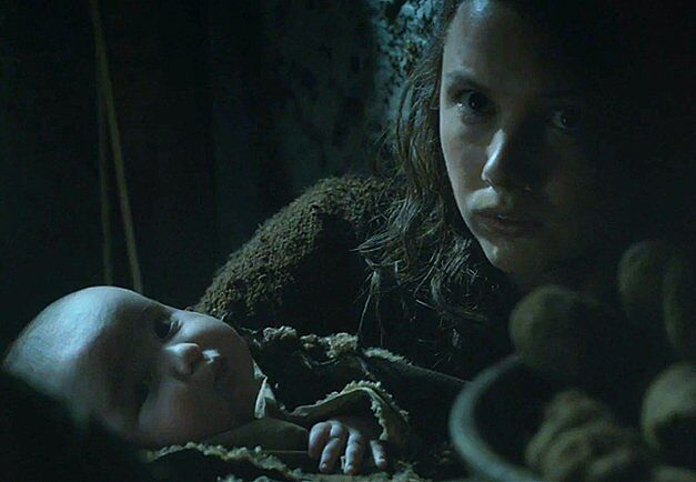 Hannah Murray (Gilly) has new scene mates in Game of Thrones