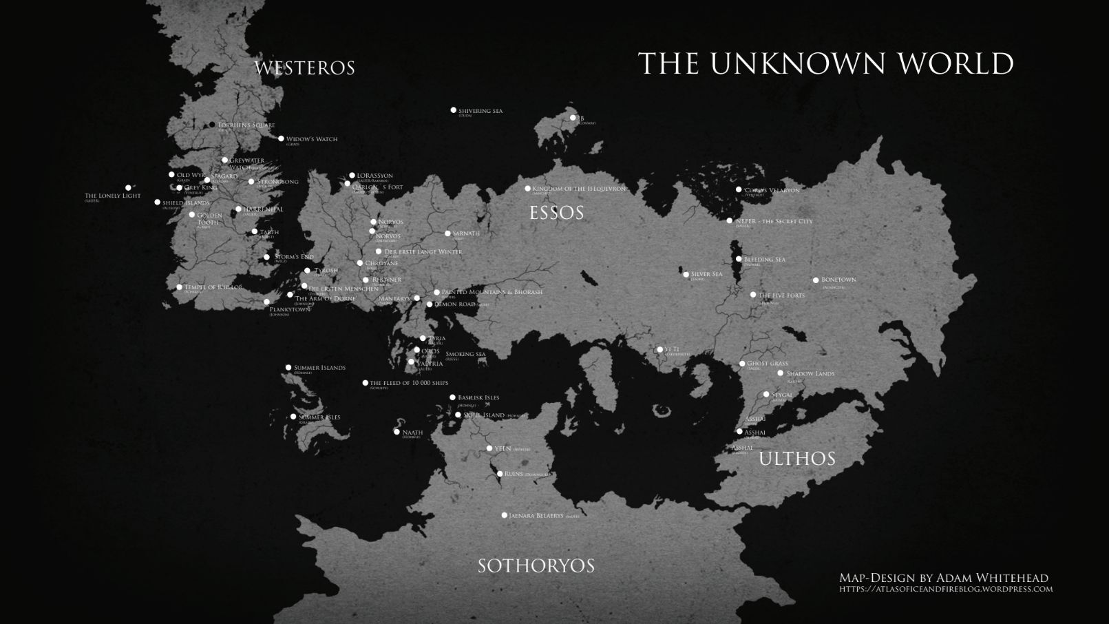 Game Of Thrones Concept Artists Show Off The Unseen World Of Ice And