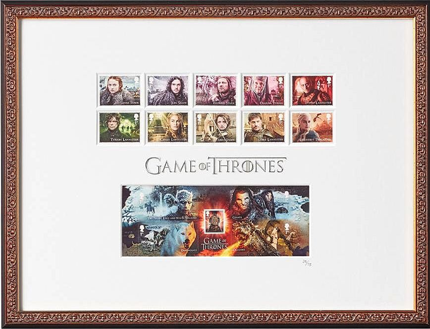 Stamps, shirts and more: New Game of Thrones merch at the HBO Shop