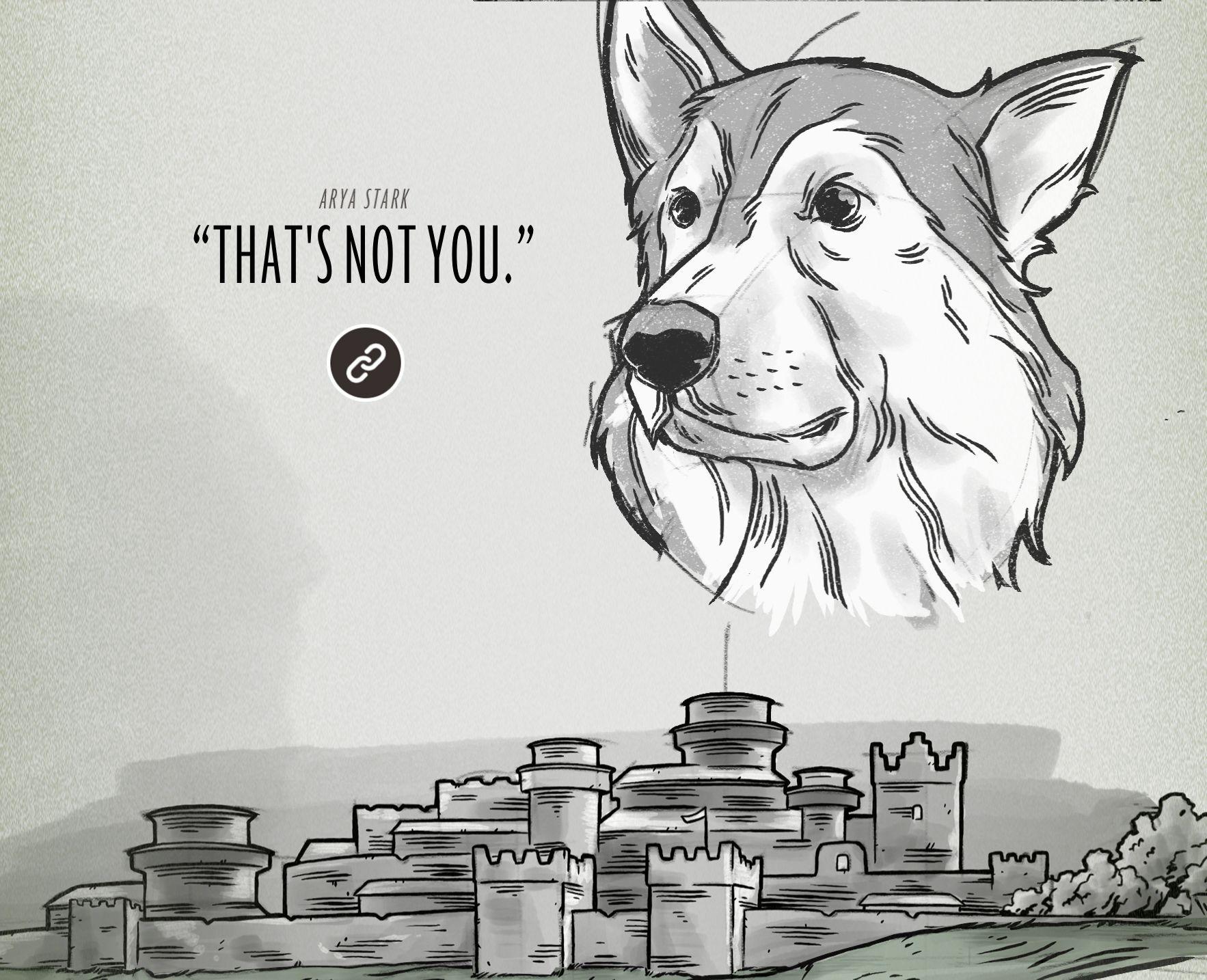 Analisando a jornada de Arya Stark em Game of Thrones