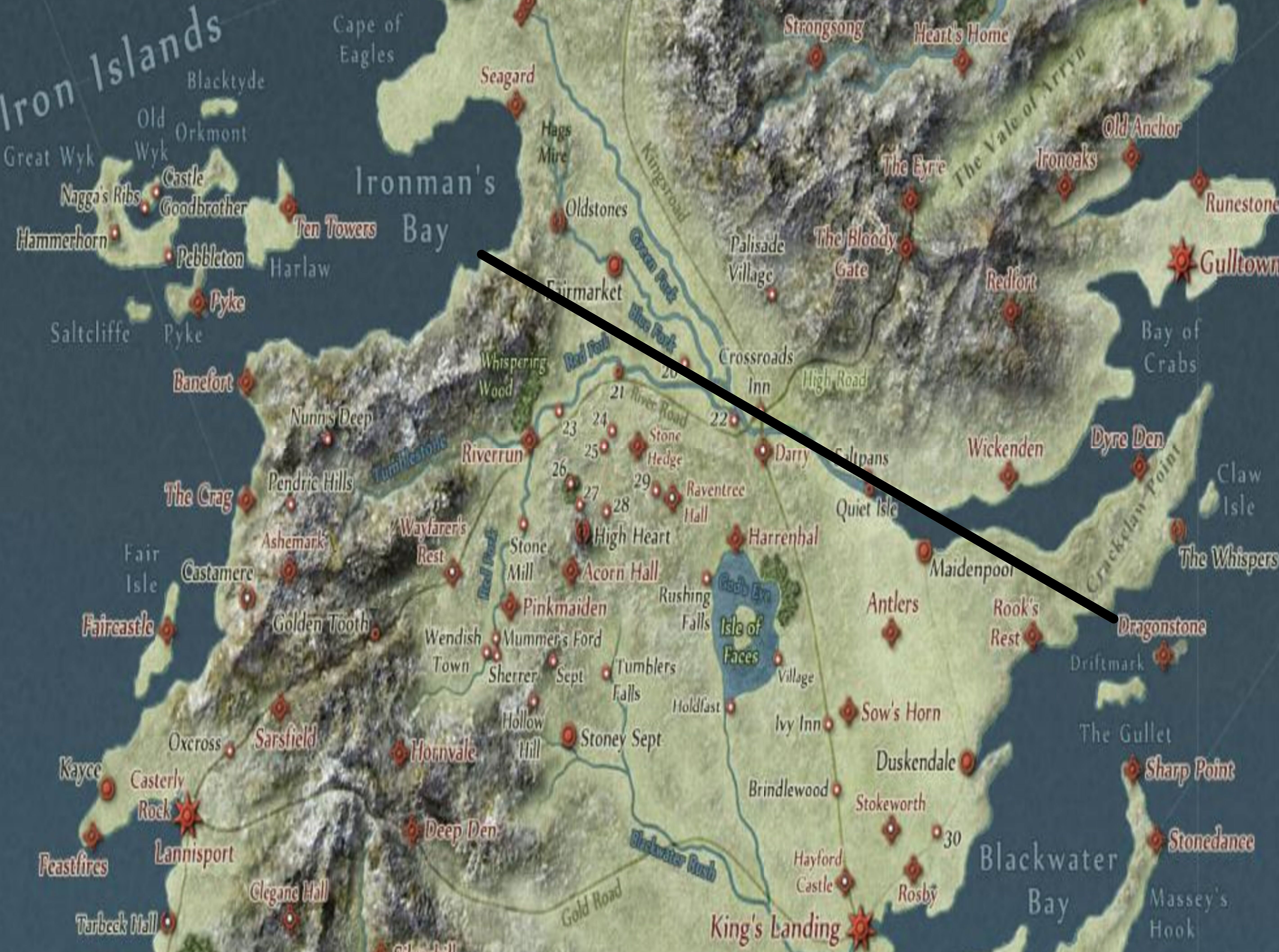 Game Of Thrones Theorycrafting A New Wall On The Rise