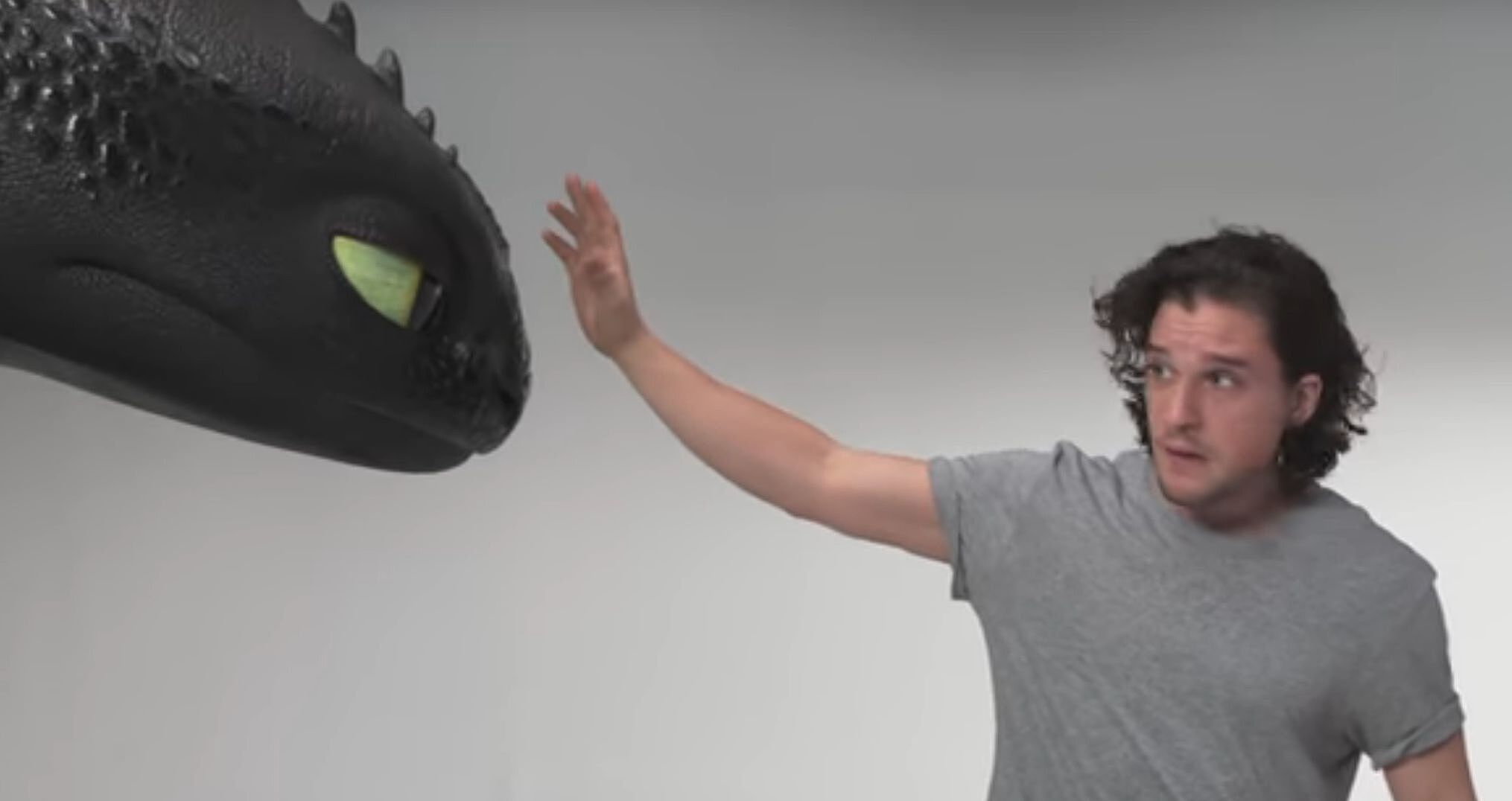 Kit Harington Auditions For How To Train Your Dragon In Hilarious
