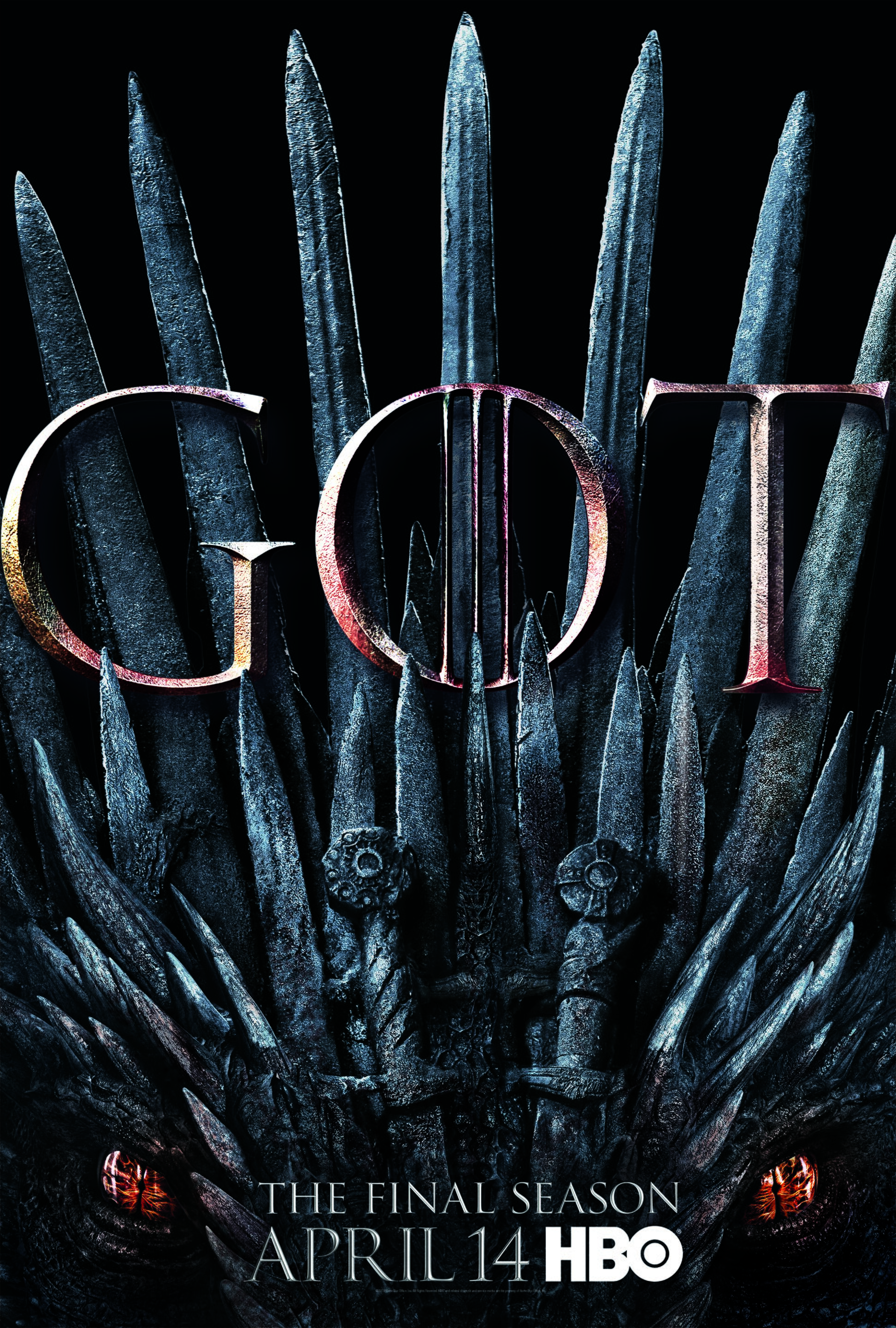 Image result for game of thrones poster season 8