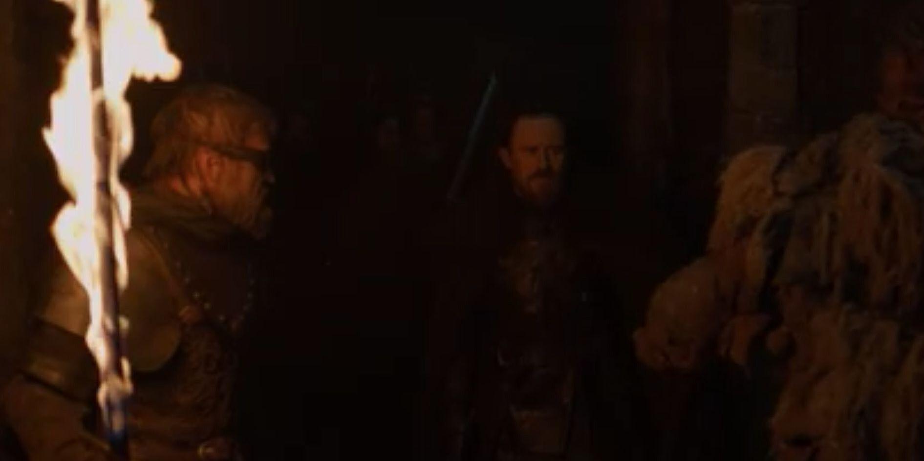 Resultado de imagen para Tormund y Beric en Last Hearth
