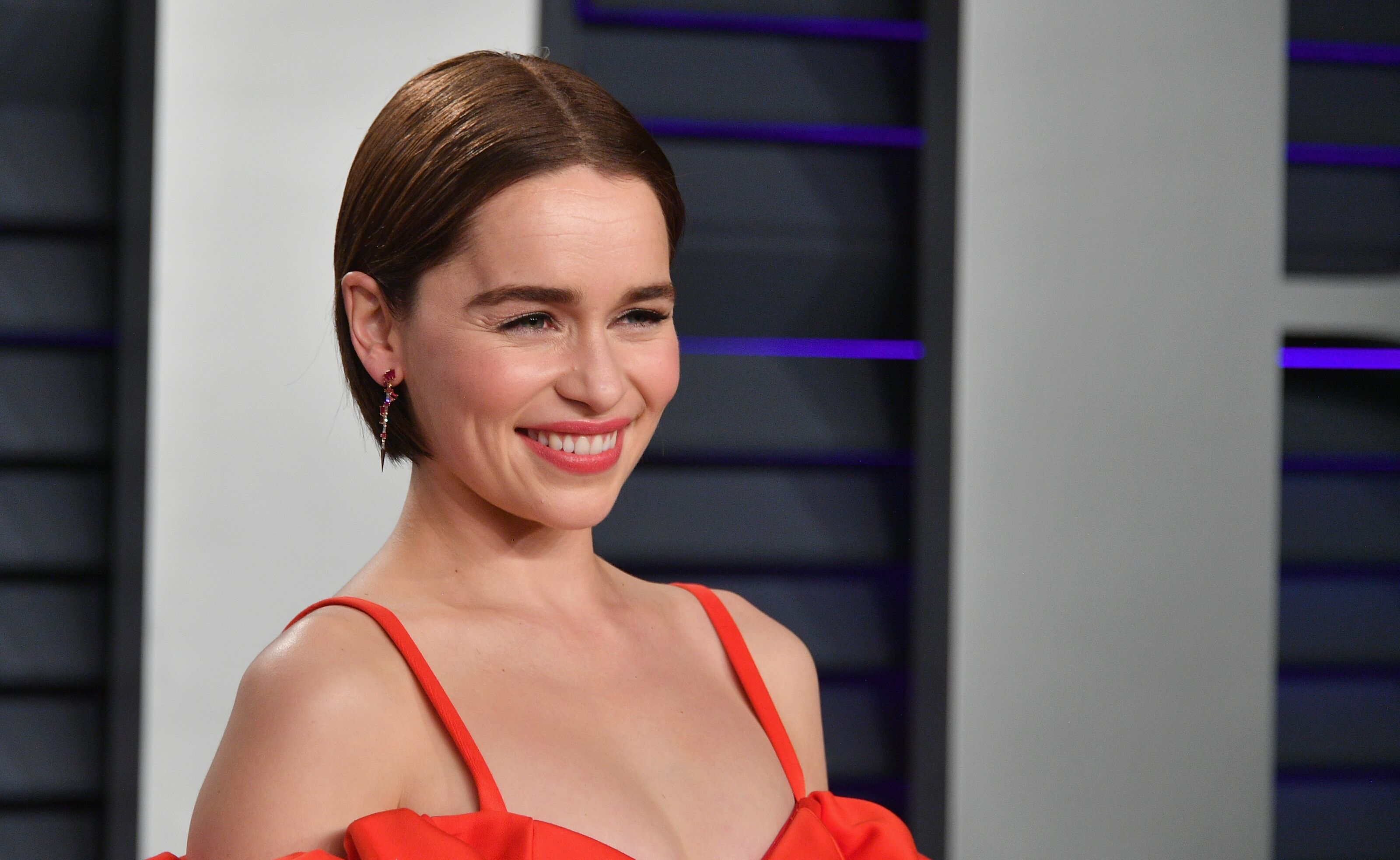First looks at Emilia Clarke in Last Christmas, Jason Momoa in The Simpsons, and more