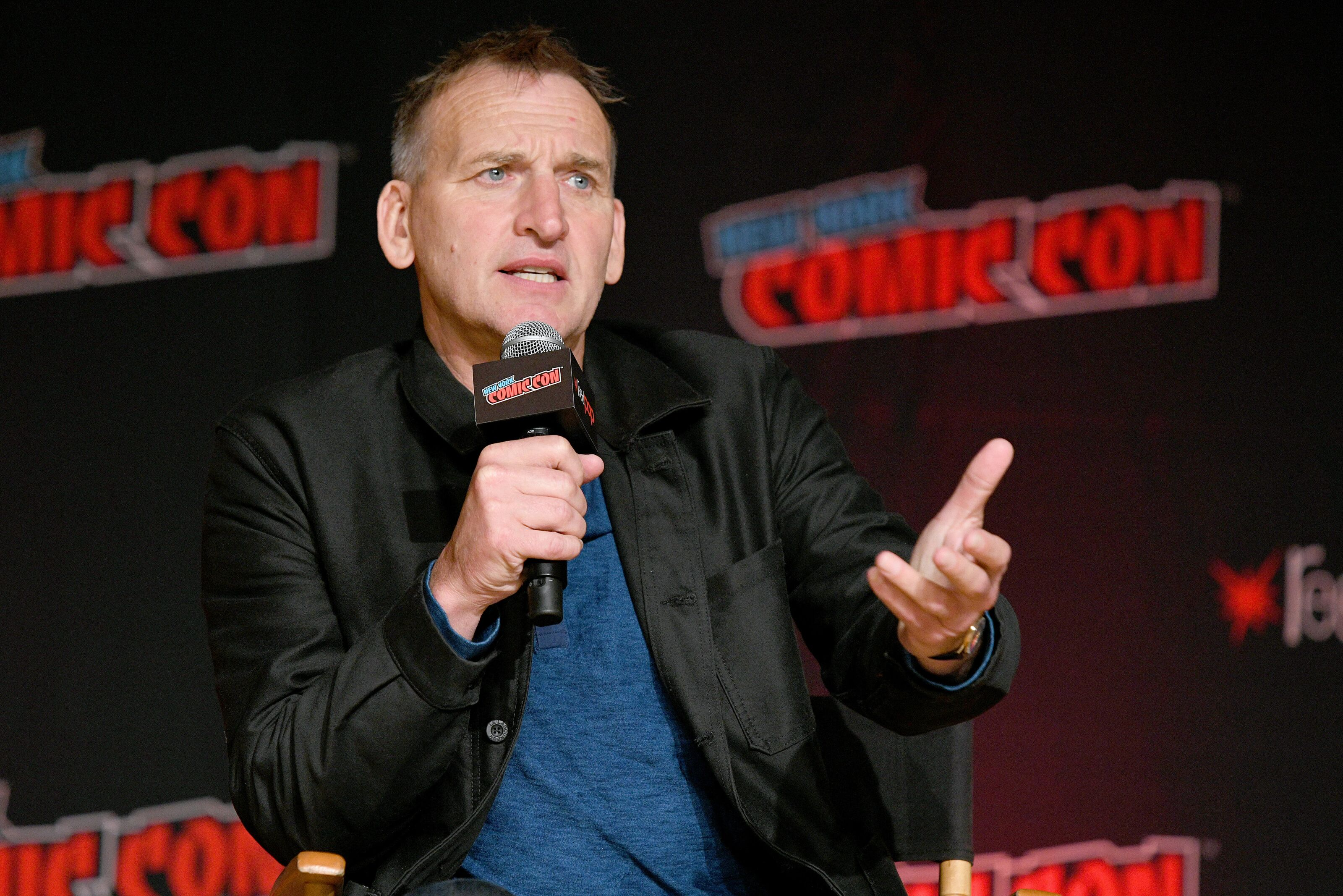 Christoper Eccleston opens up about why he left Doctor Who
