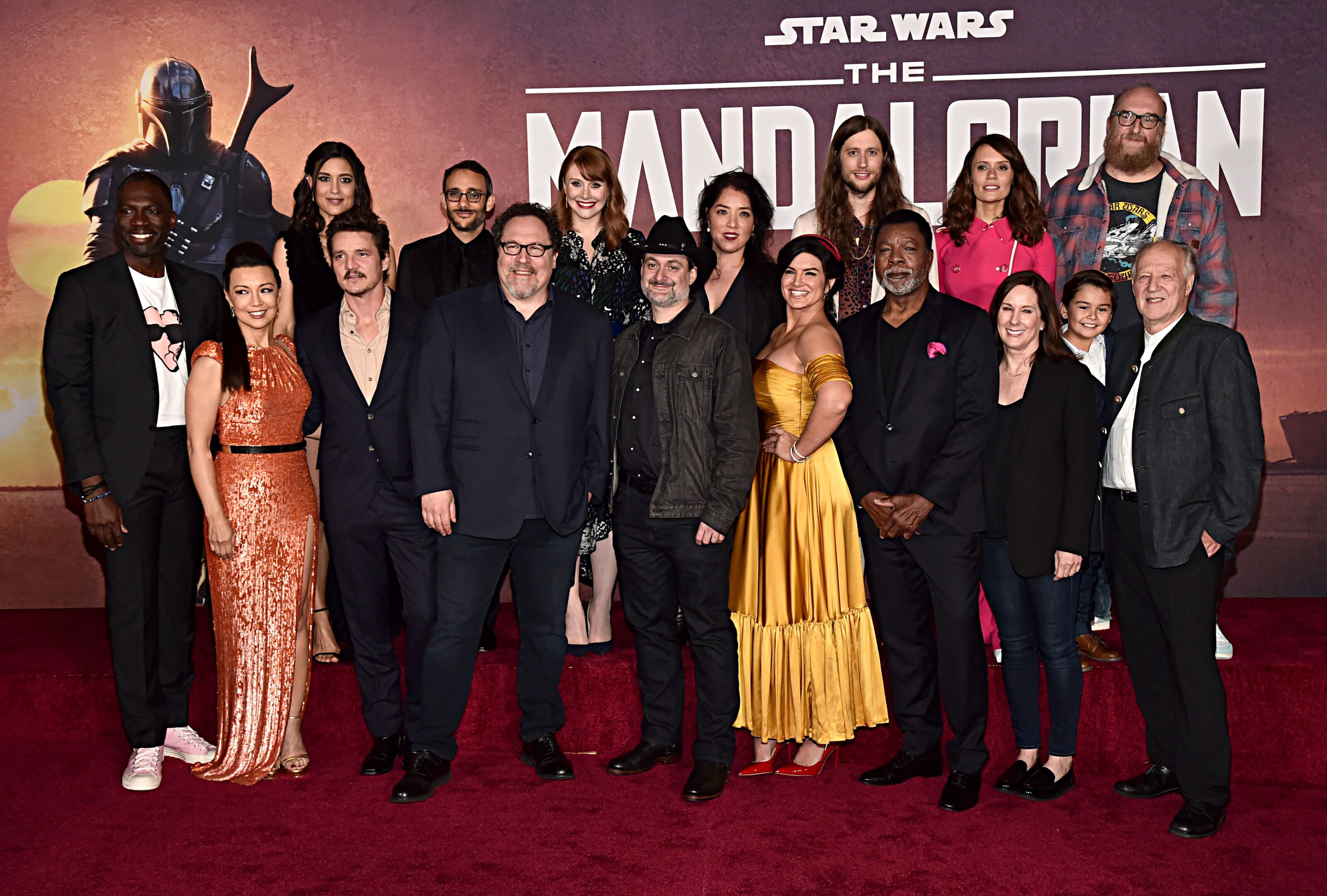 The Mandalorian cast and crew on what comes after that premiere-ending twist
