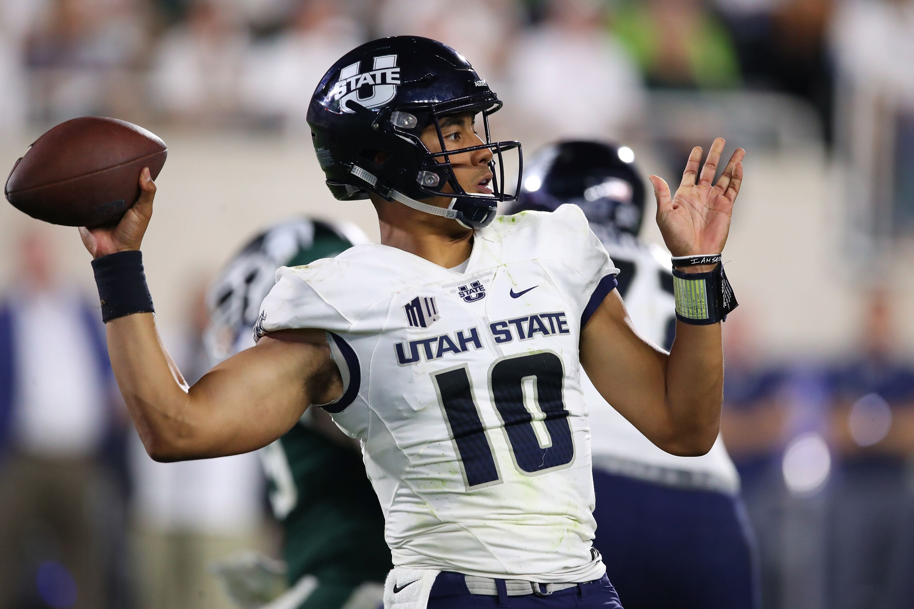 Utah State's Jordan Love ranked among top QB prospects for 2020 NFL draft