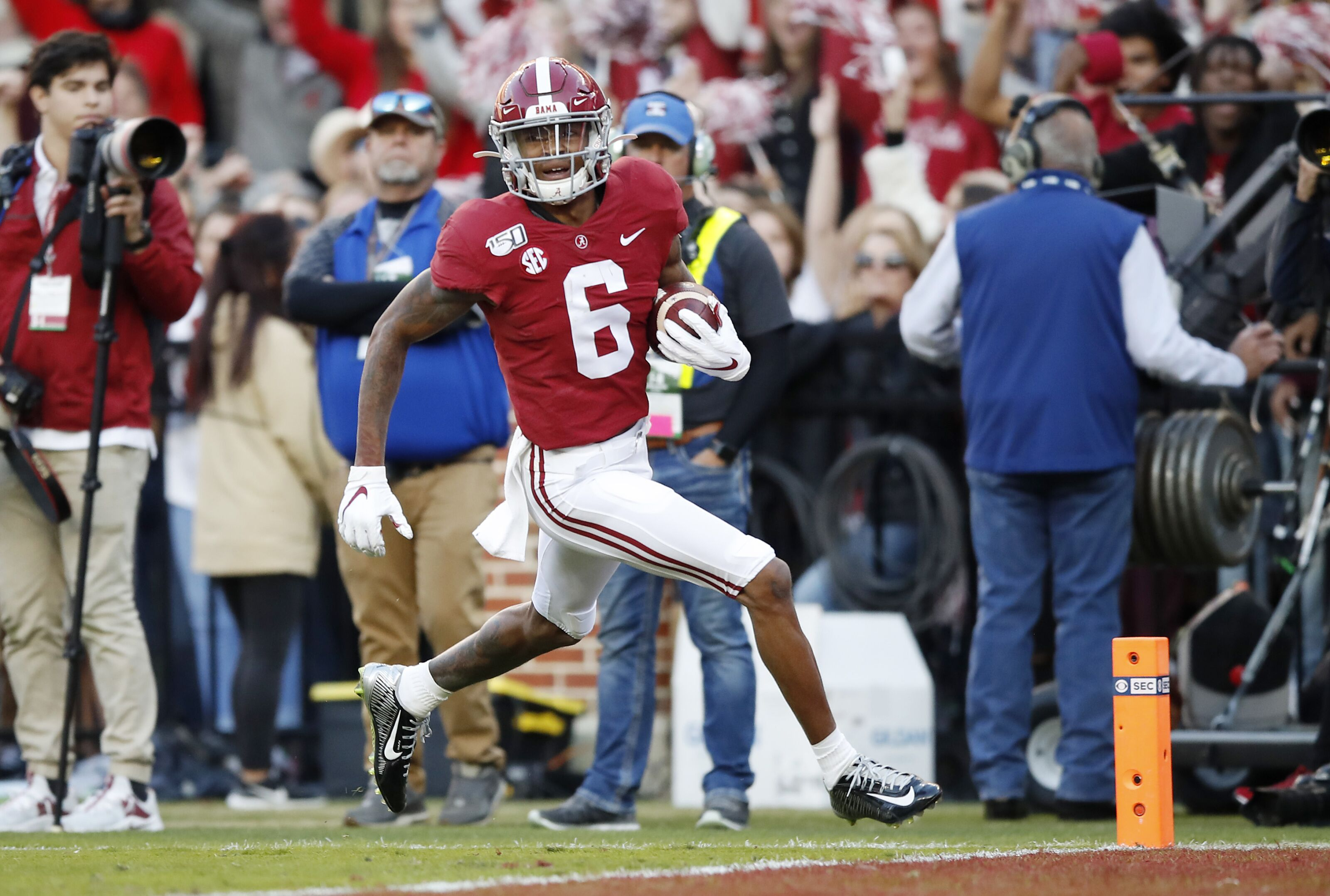 2020 NFL Draft: Devonta Smith would be smart to stay at ...