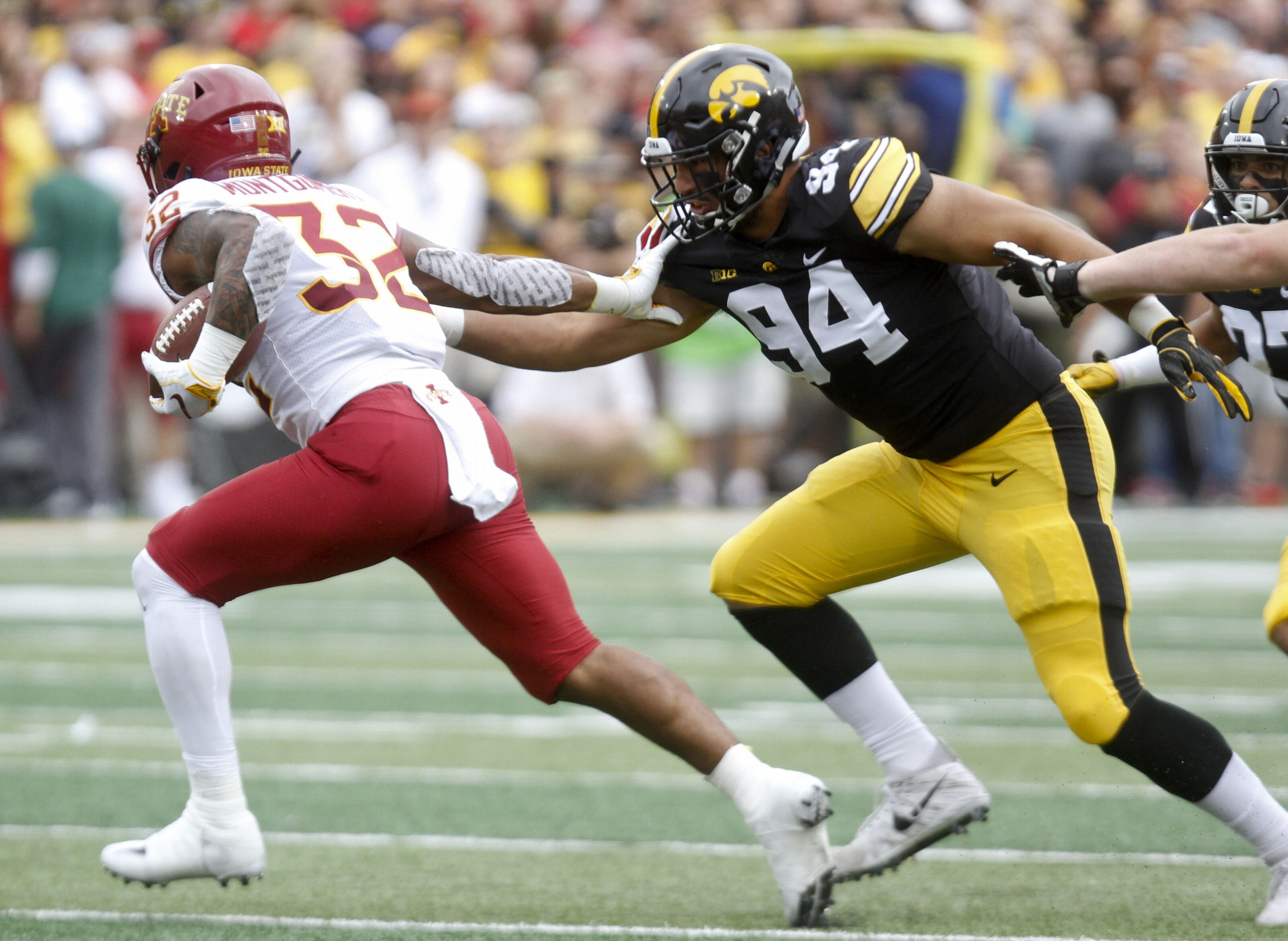 Battle For No. 1 Overall: A.J. Epenesa, Iowa