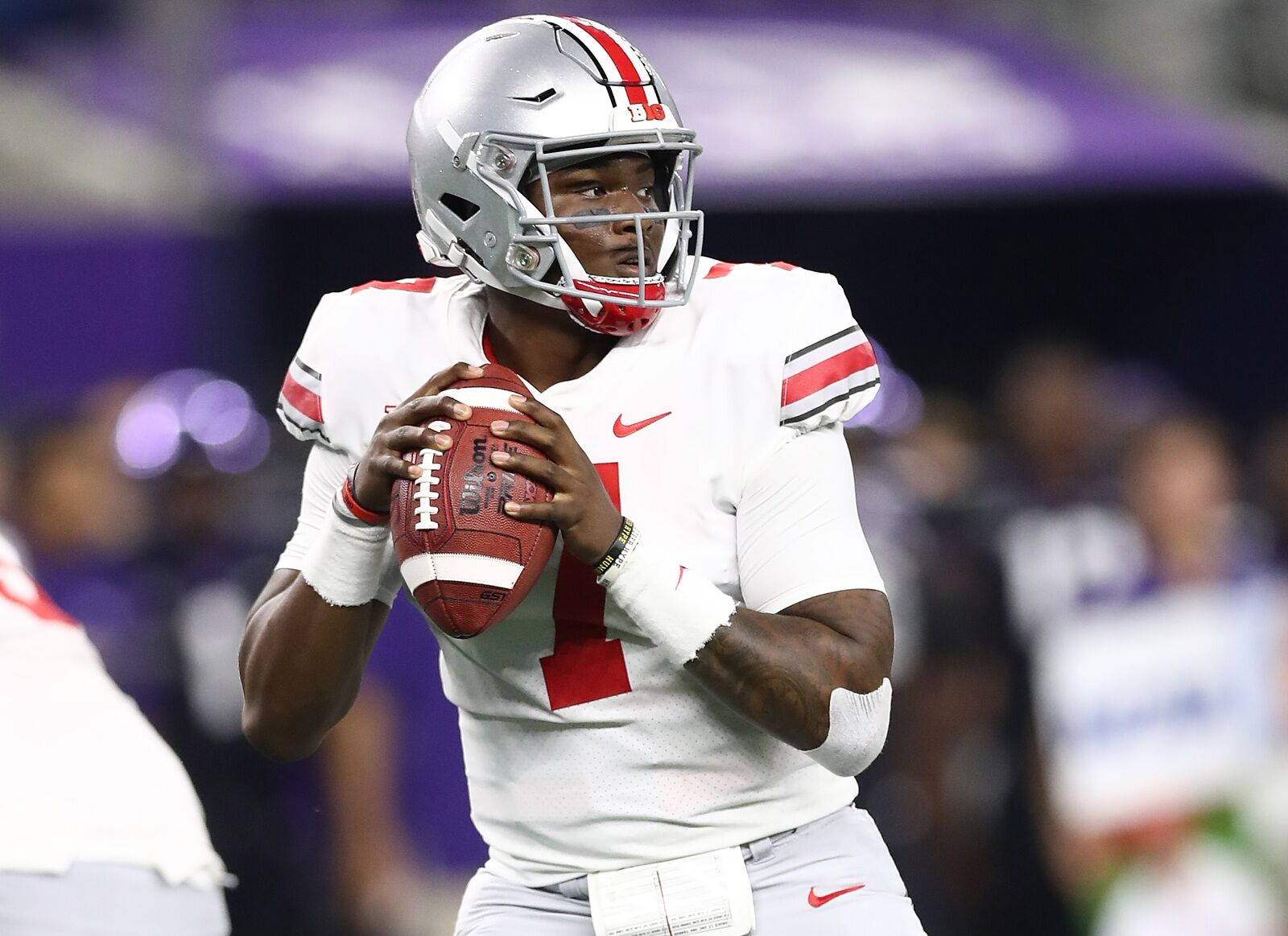 LOOK: Dwayne Haskins shows off deep ball at Pro Day