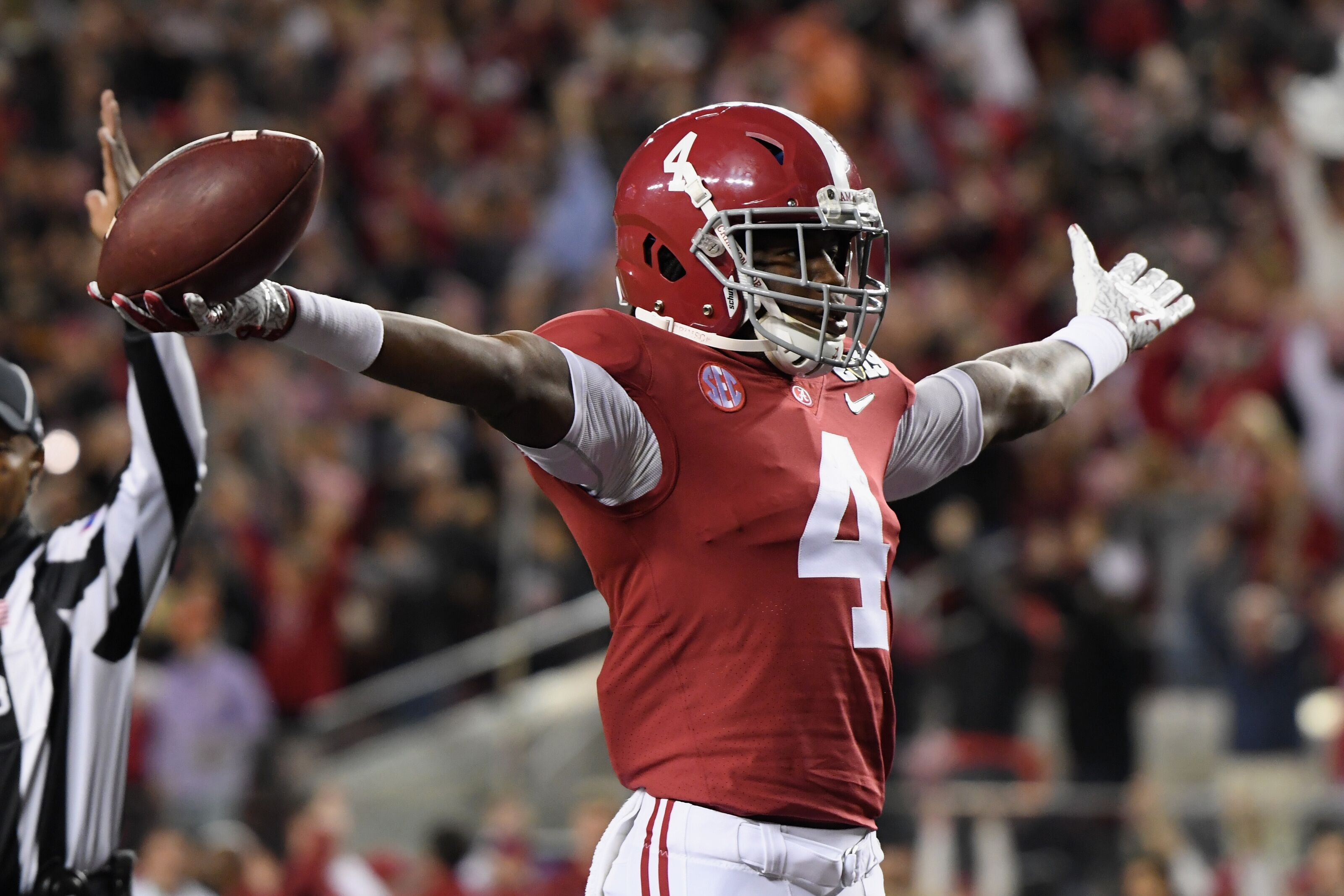 Alabama's Jerry Jeudy has the juice to be No. 1 overall pick