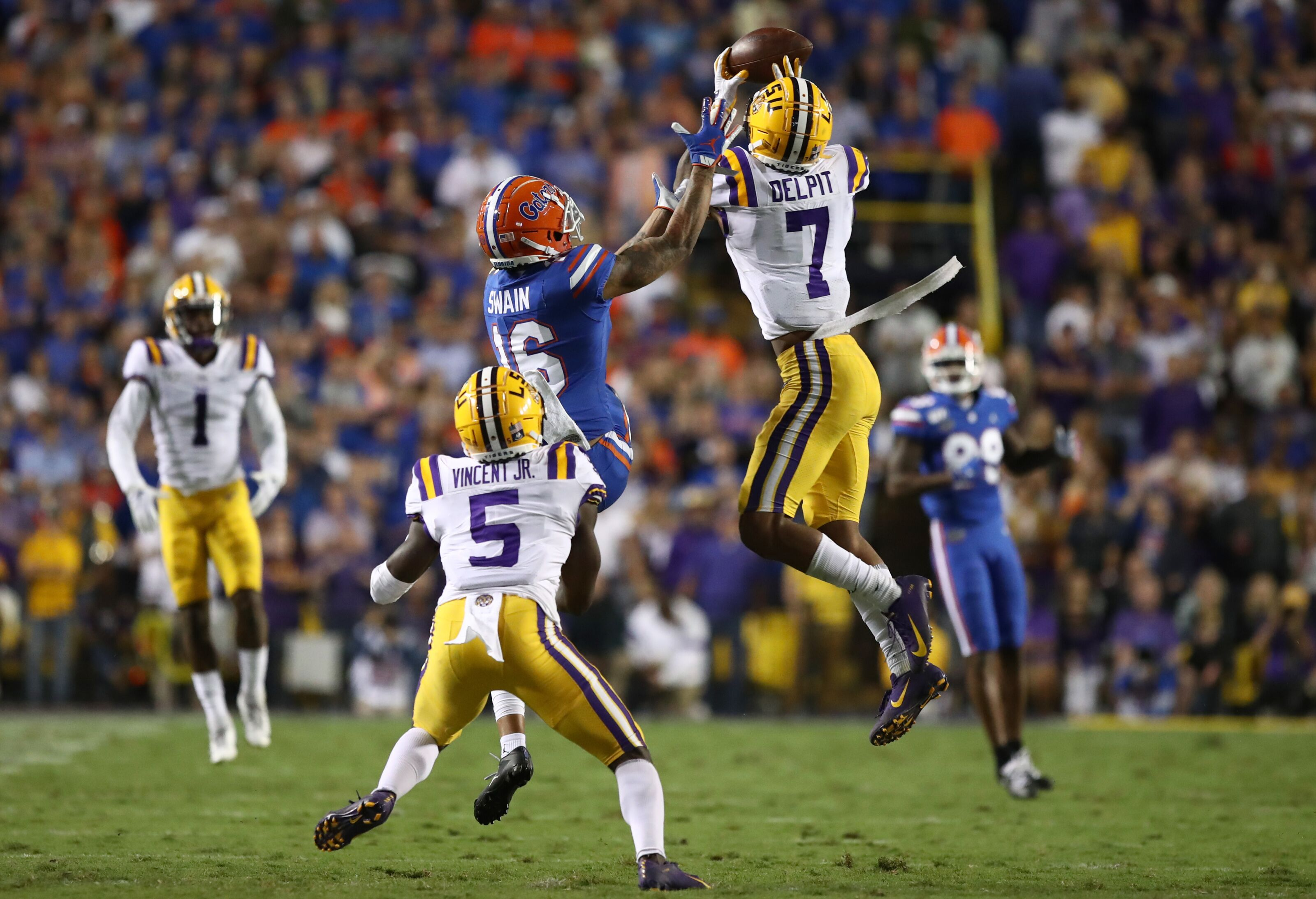 Breaking down Grant Delpit's performance against Florida