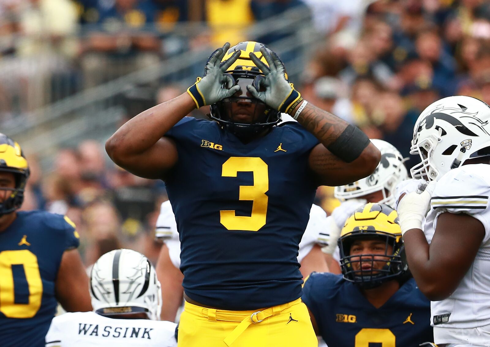 2019 NFL Draft: How Rashan Gary's shoulder injury could impact 1st round