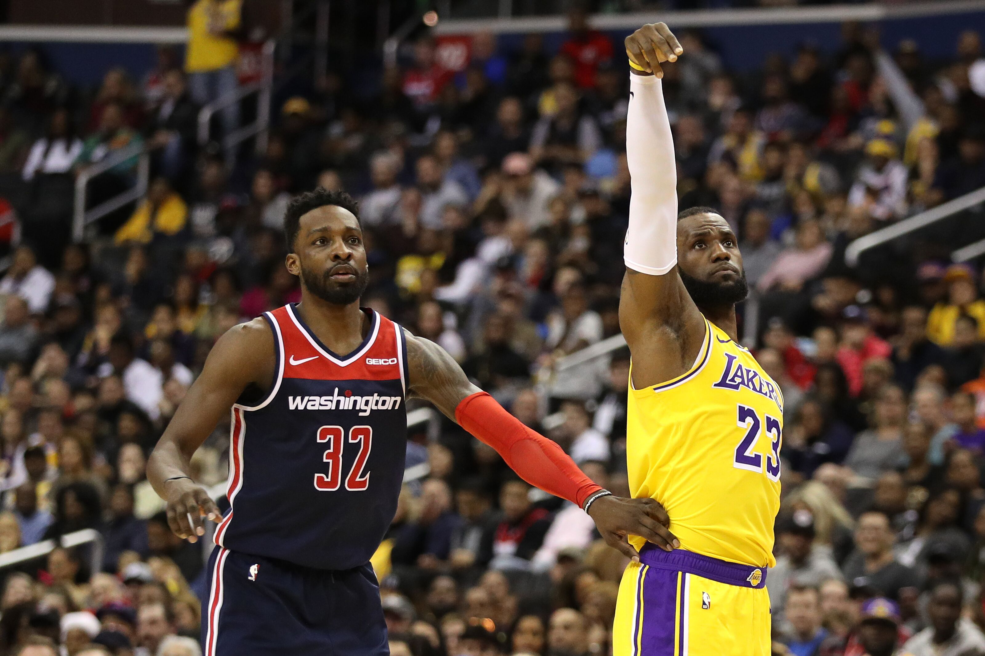Wizards and Lakers Both Struggling to Salvage Sour Season 43b723b25